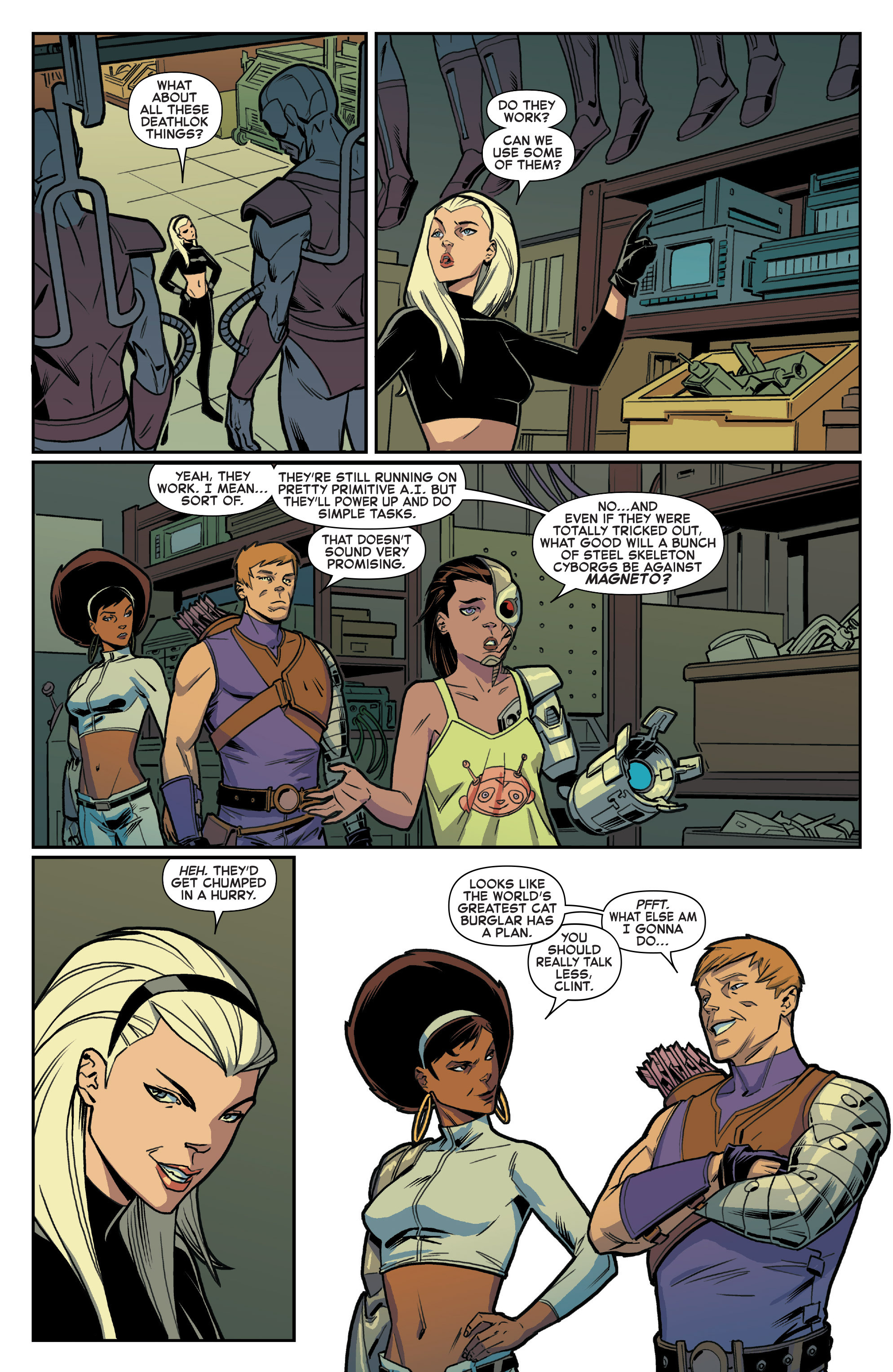 Read online House of M (2015) comic -  Issue #2 - 6