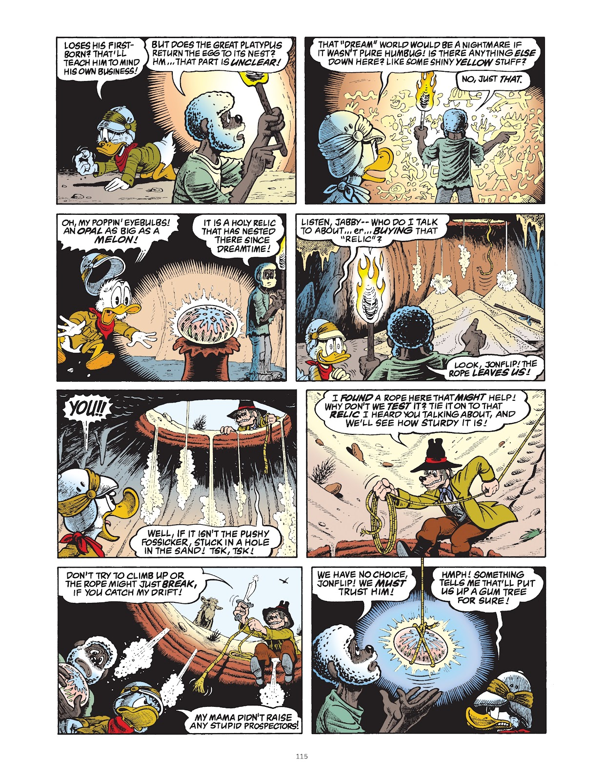 Read online The Complete Life and Times of Scrooge McDuck comic -  Issue # TPB 1 (Part 2) - 15