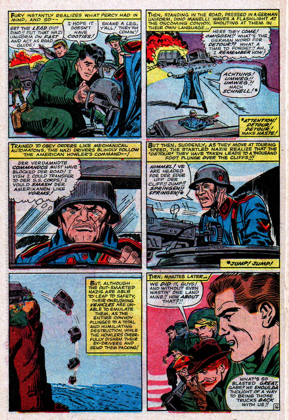 Read online Sgt. Fury comic -  Issue #11 - 22