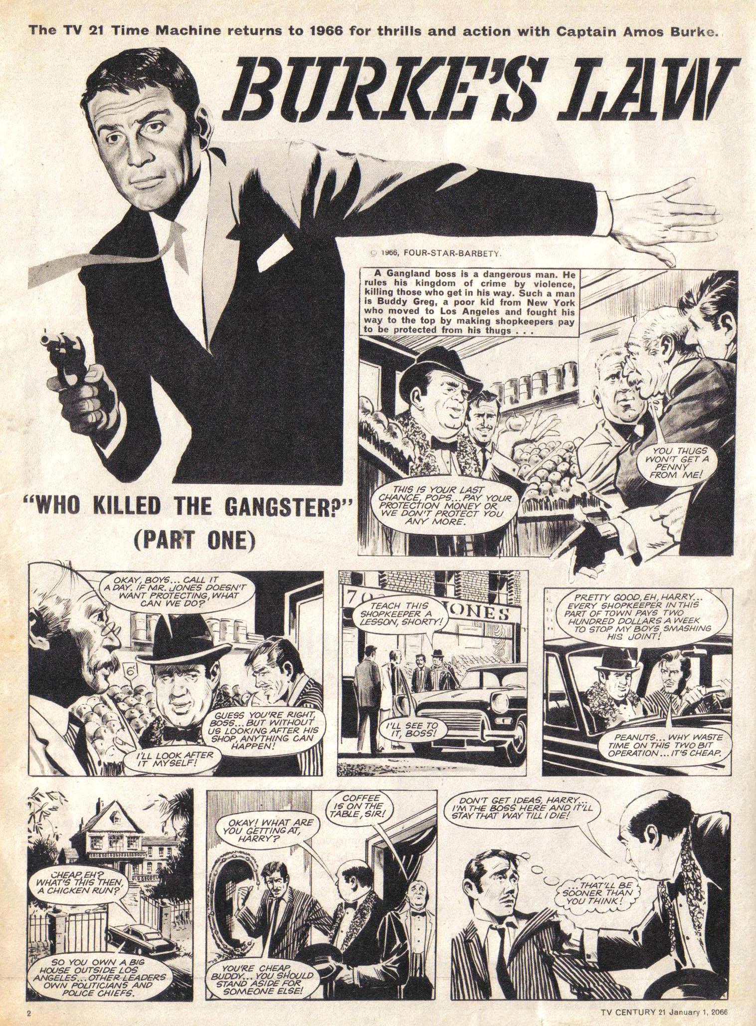 Read online TV Century 21 (TV 21) comic -  Issue #50 - 2