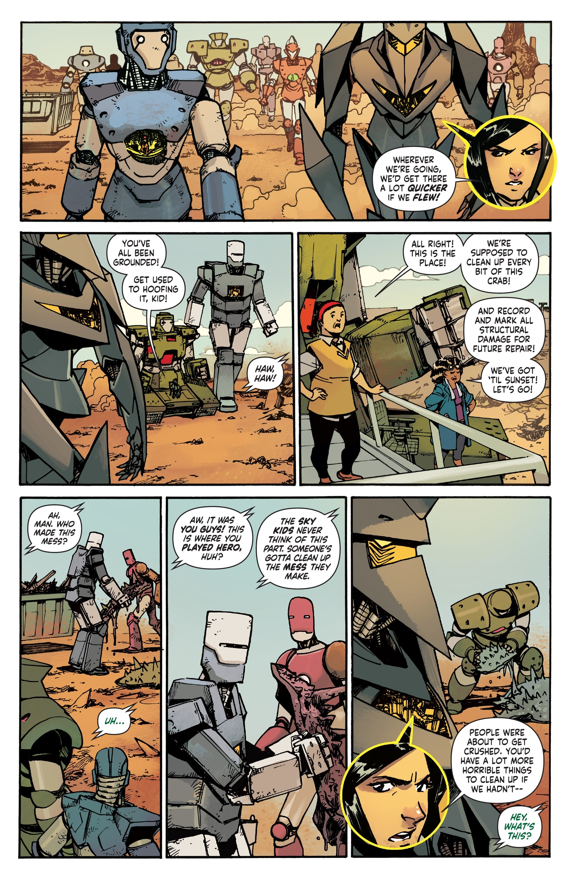 Mech Cadet Yu #_TPB_2 #15 - English 14