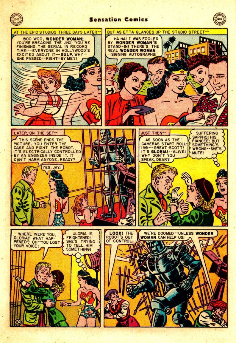 Read online Sensation (Mystery) Comics comic -  Issue #88 - 11