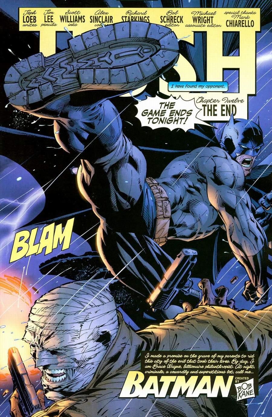 Read online Batman: Hush comic -  Issue #12 - 7