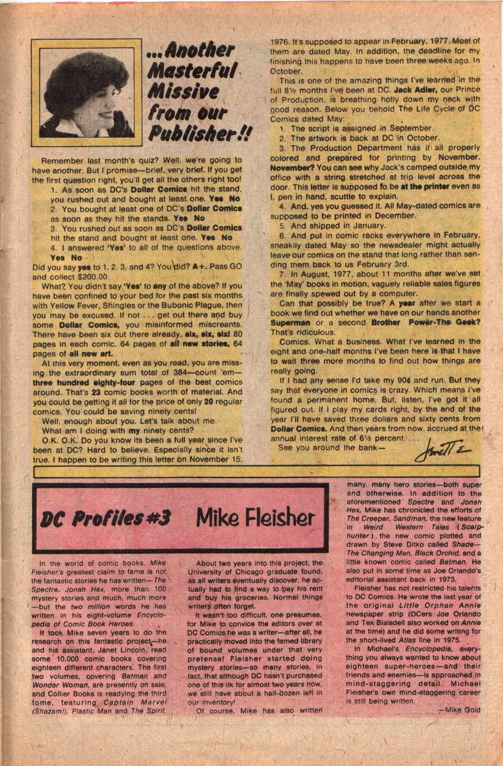 Read online Shazam! (1973) comic -  Issue #29 - 33
