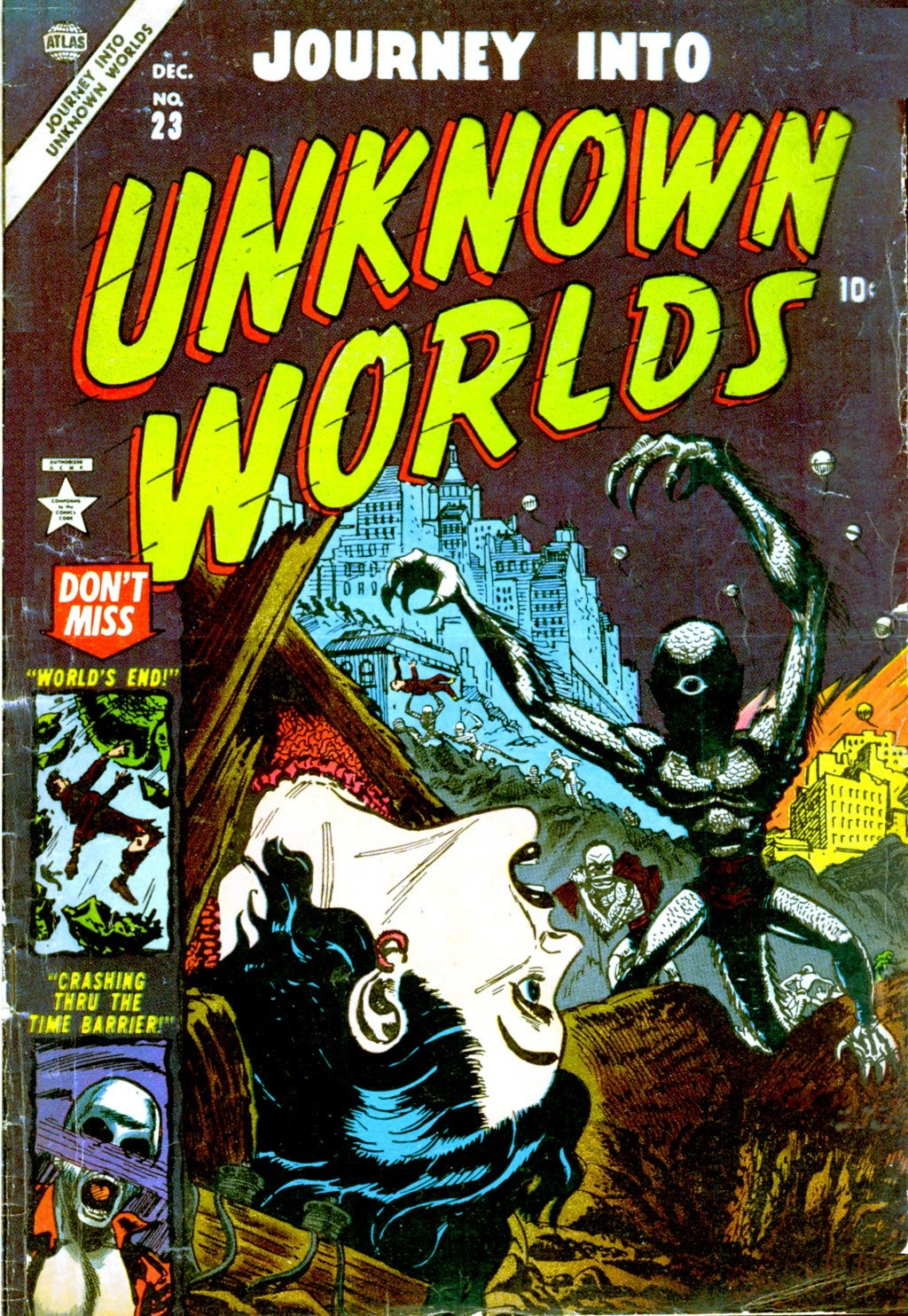 Journey Into Unknown Worlds (1950) issue 23 - Page 1