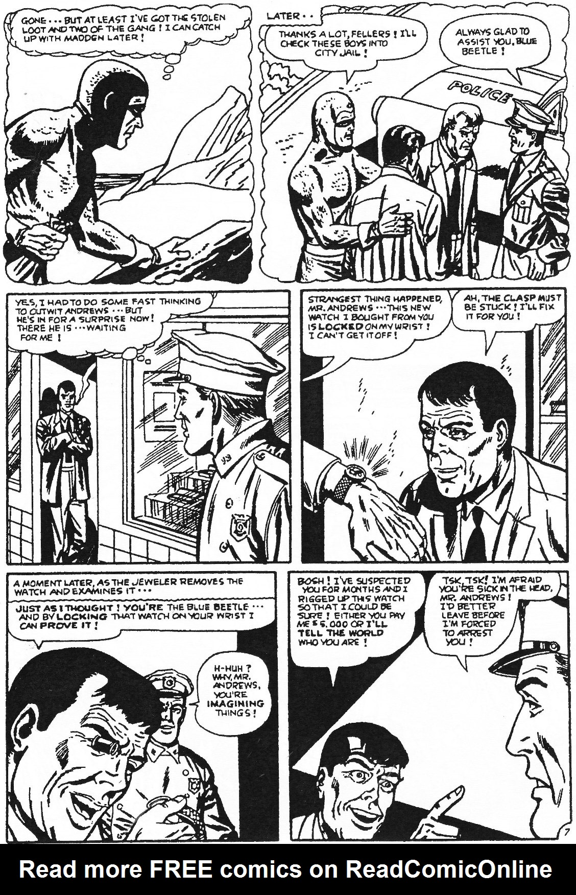Read online Men of Mystery Comics comic -  Issue #57 - 48