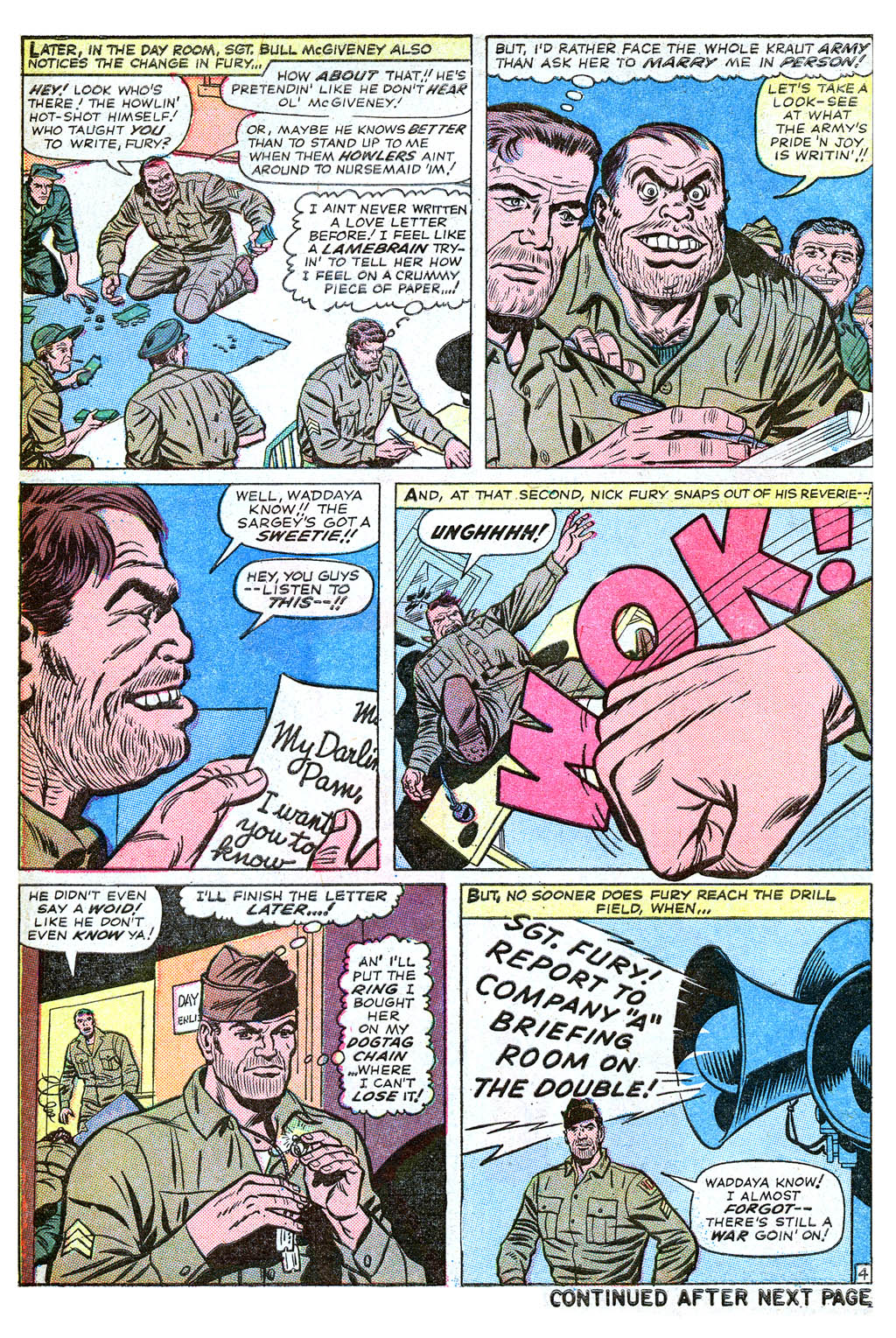 Read online Sgt. Fury comic -  Issue #18 - 6