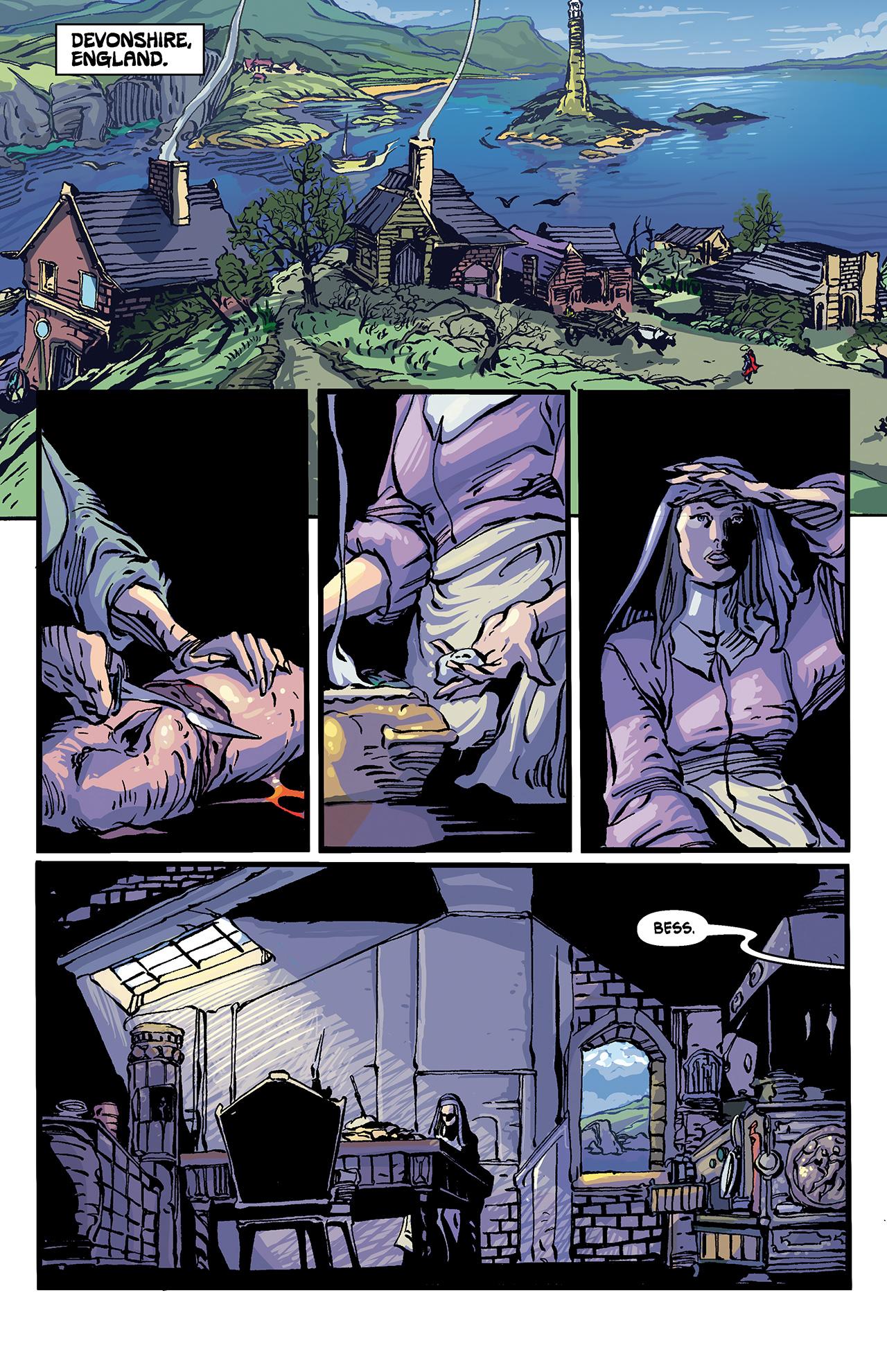 Read online Solomon Kane: Death's Black Riders comic -  Issue #4 - 25