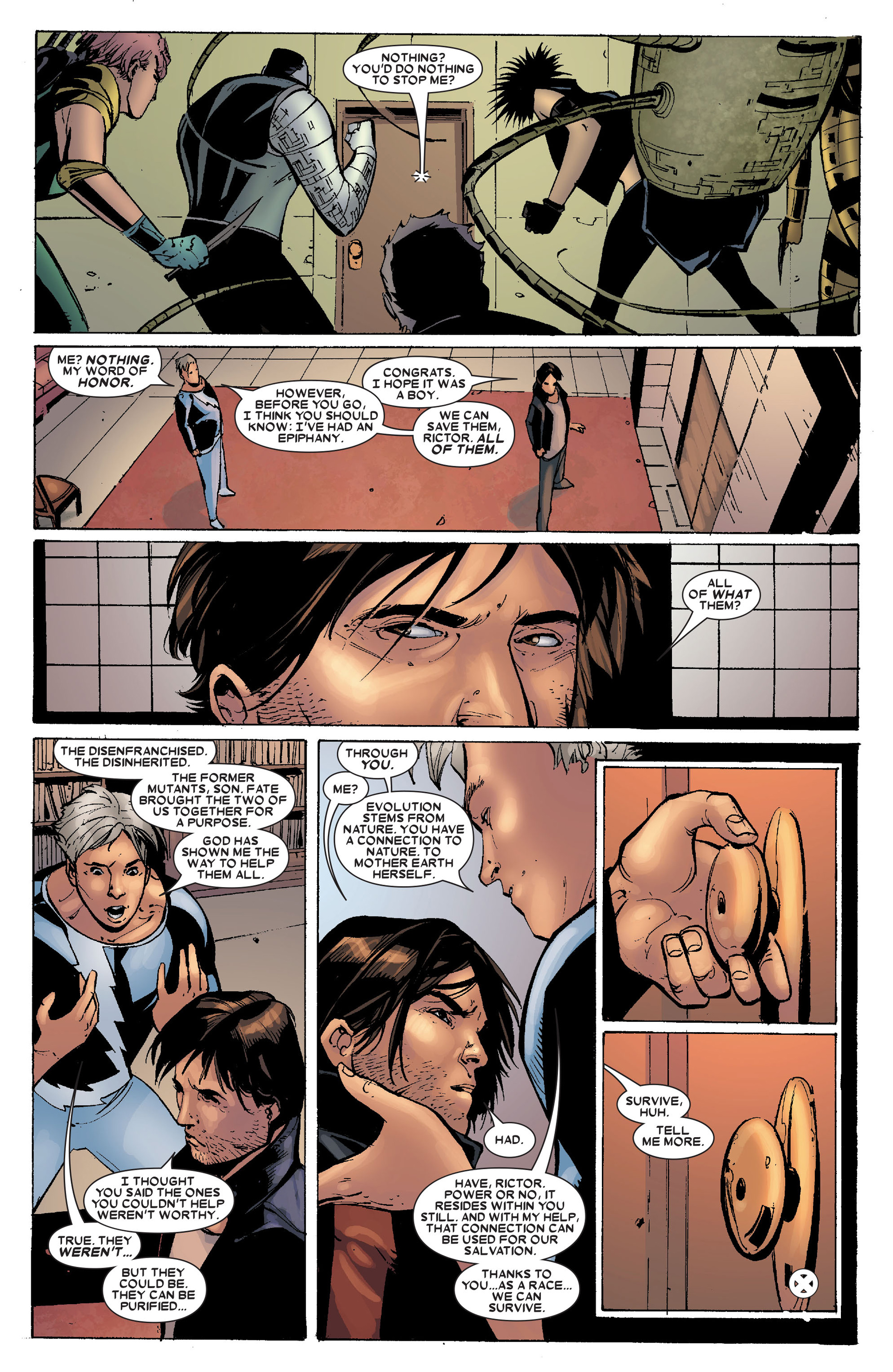 Read online X-Factor (2006) comic -  Issue #19 - 24