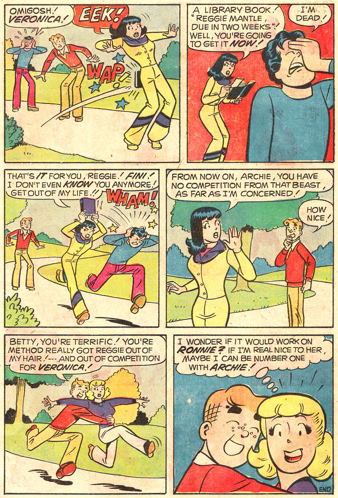 Read online Archie (1960) comic -  Issue #250 - 7