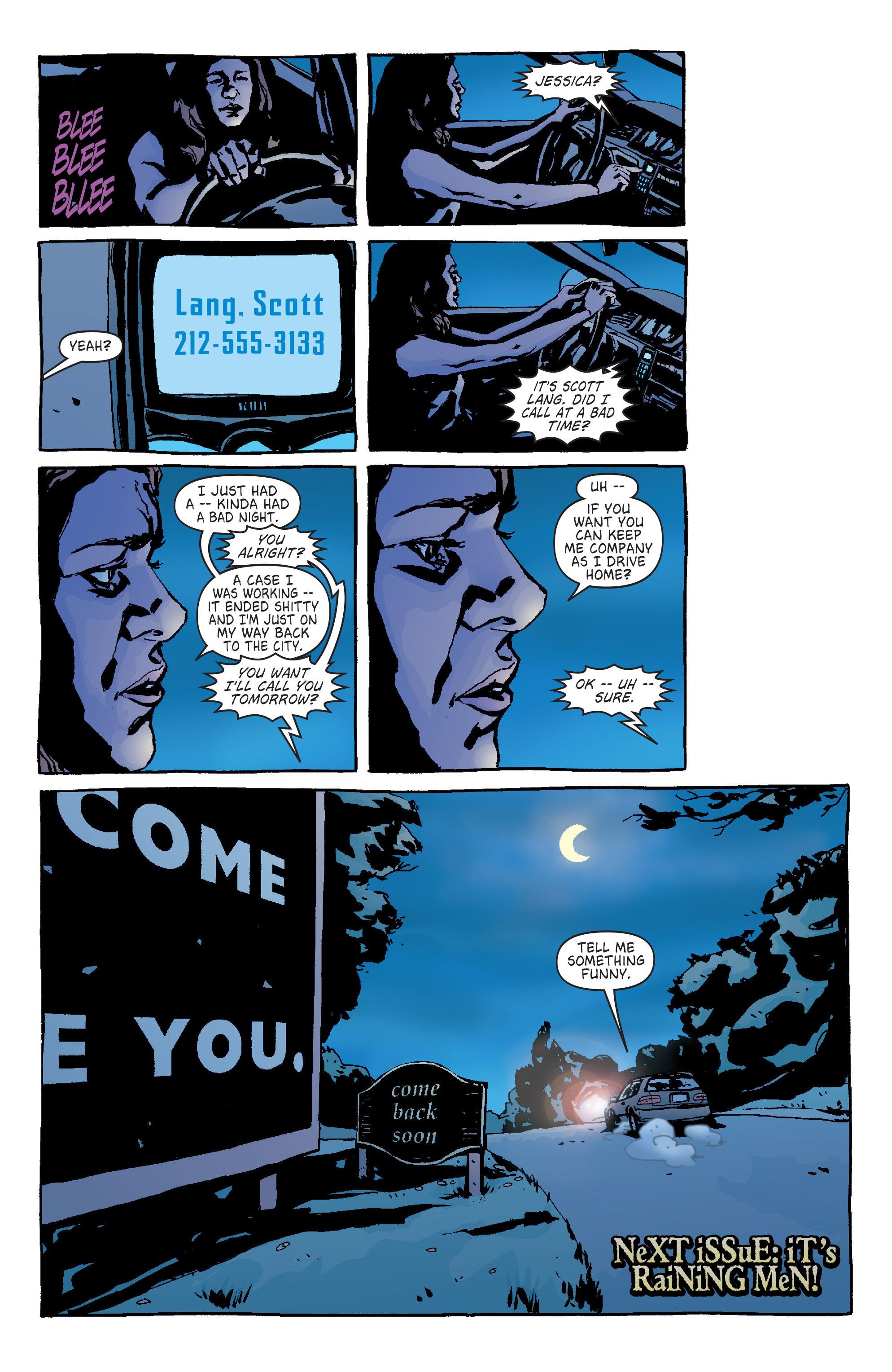 Read online Alias comic -  Issue #14 - 22