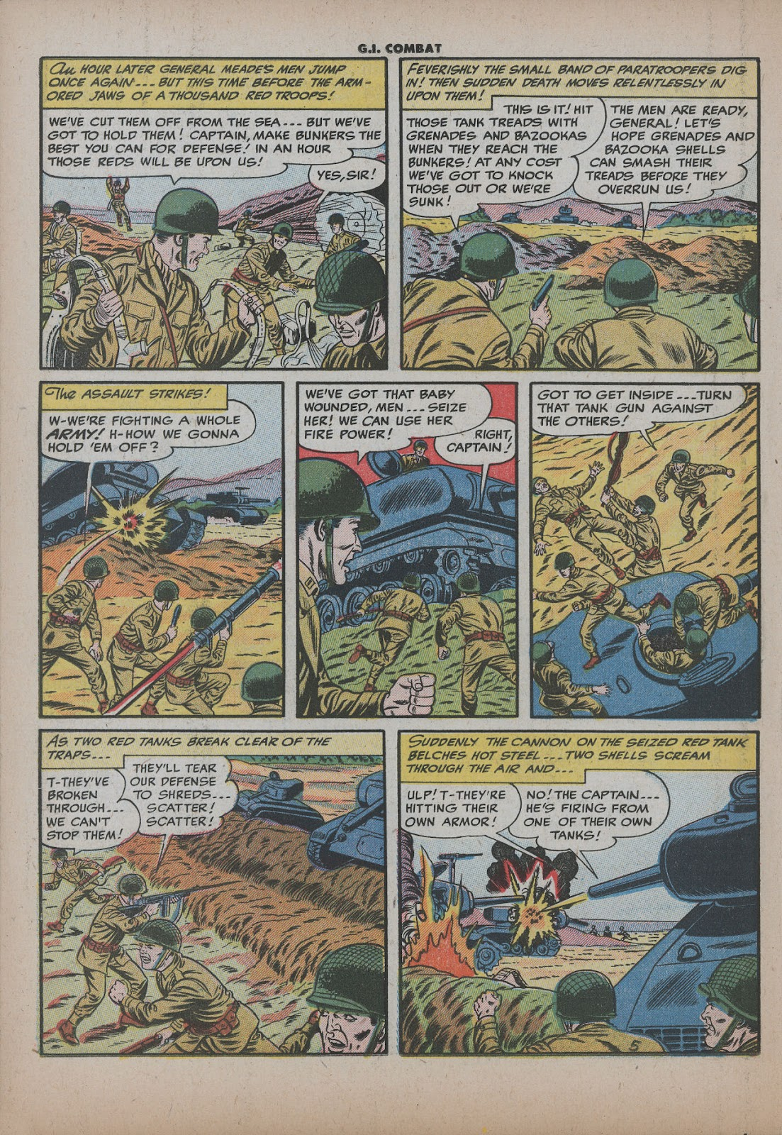 G.I. Combat (1952) issue 26 - Page 22