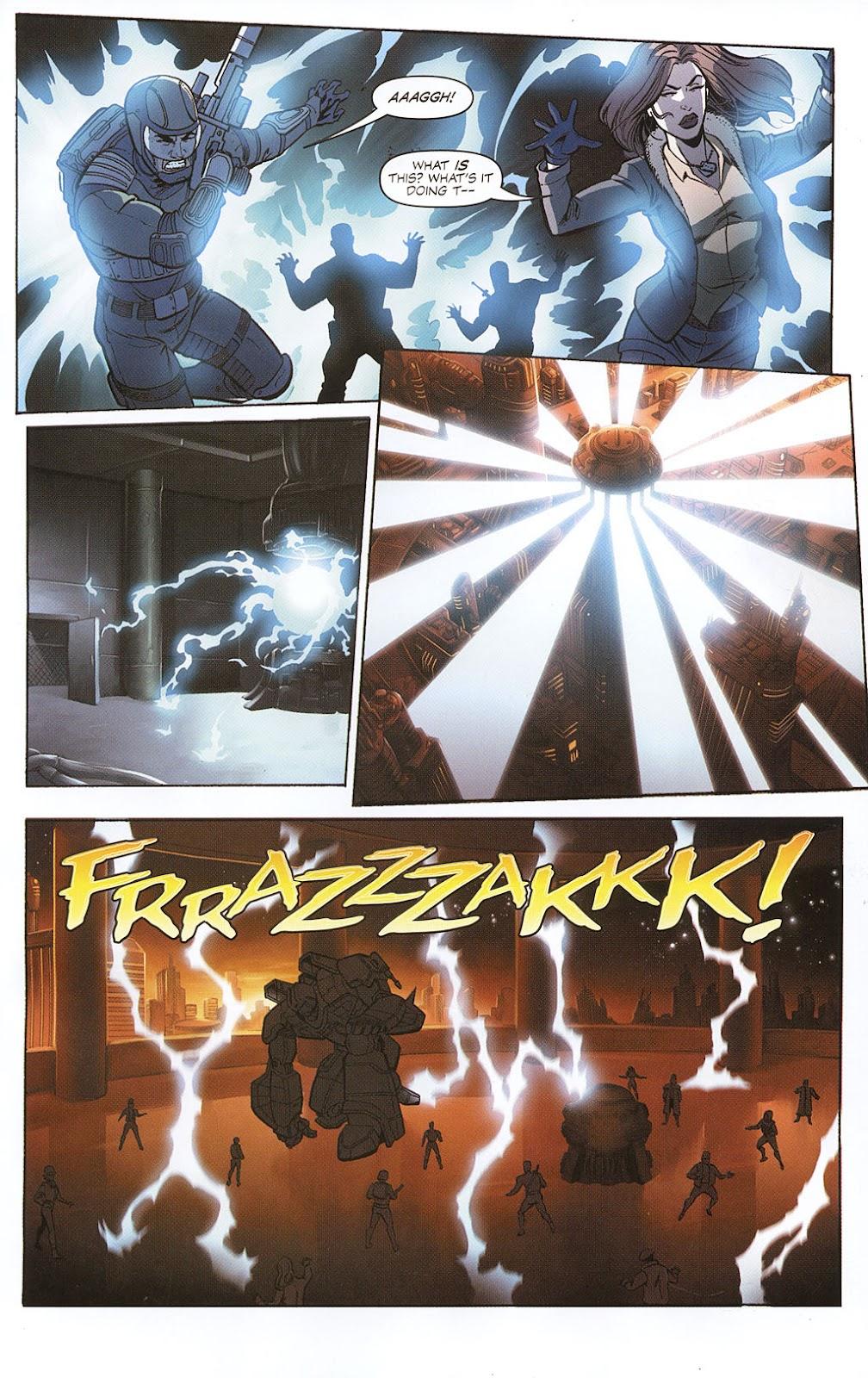 G.I. Joe vs. The Transformers II Issue #0 #1 - English 13