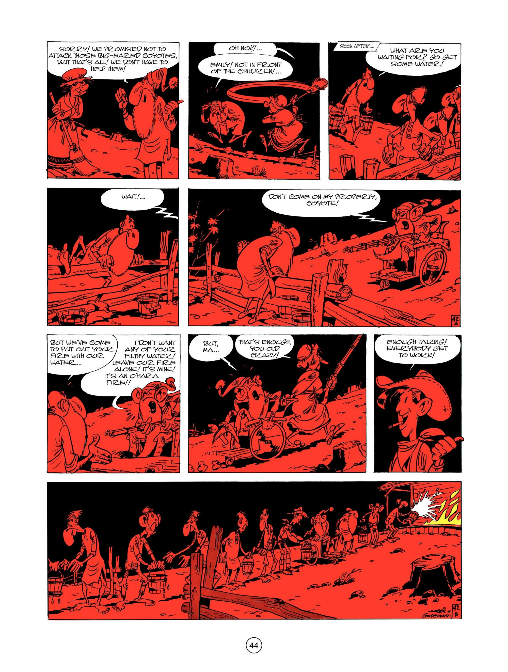 Read online A Lucky Luke Adventure comic -  Issue #12 - 44