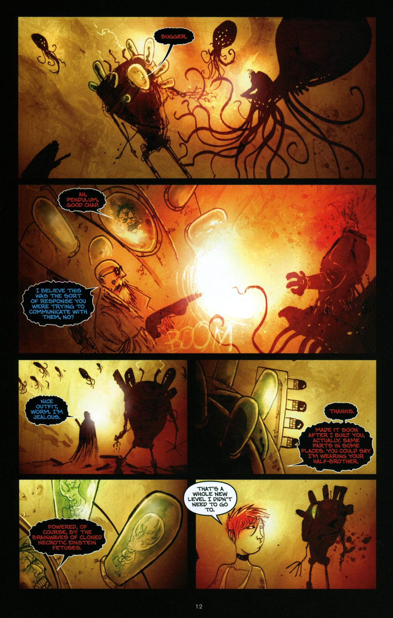 Read online Wormwood: Gentleman Corpse comic -  Issue #10 - 13