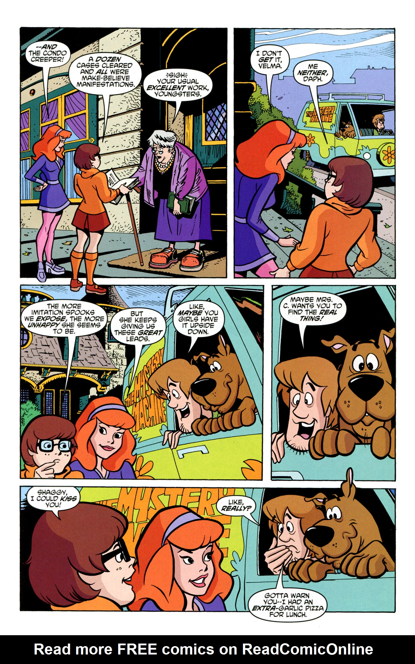 Read online Scooby-Doo: Where Are You? comic -  Issue #19 - 23
