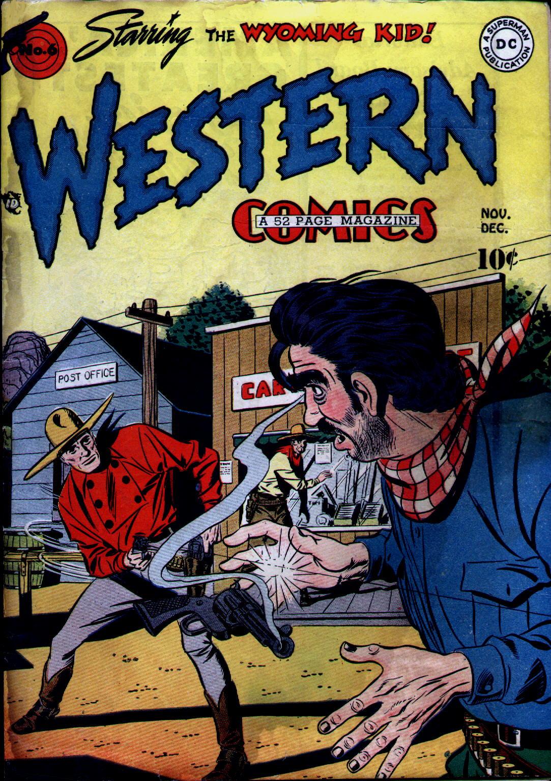 Western Comics 6 Page 1