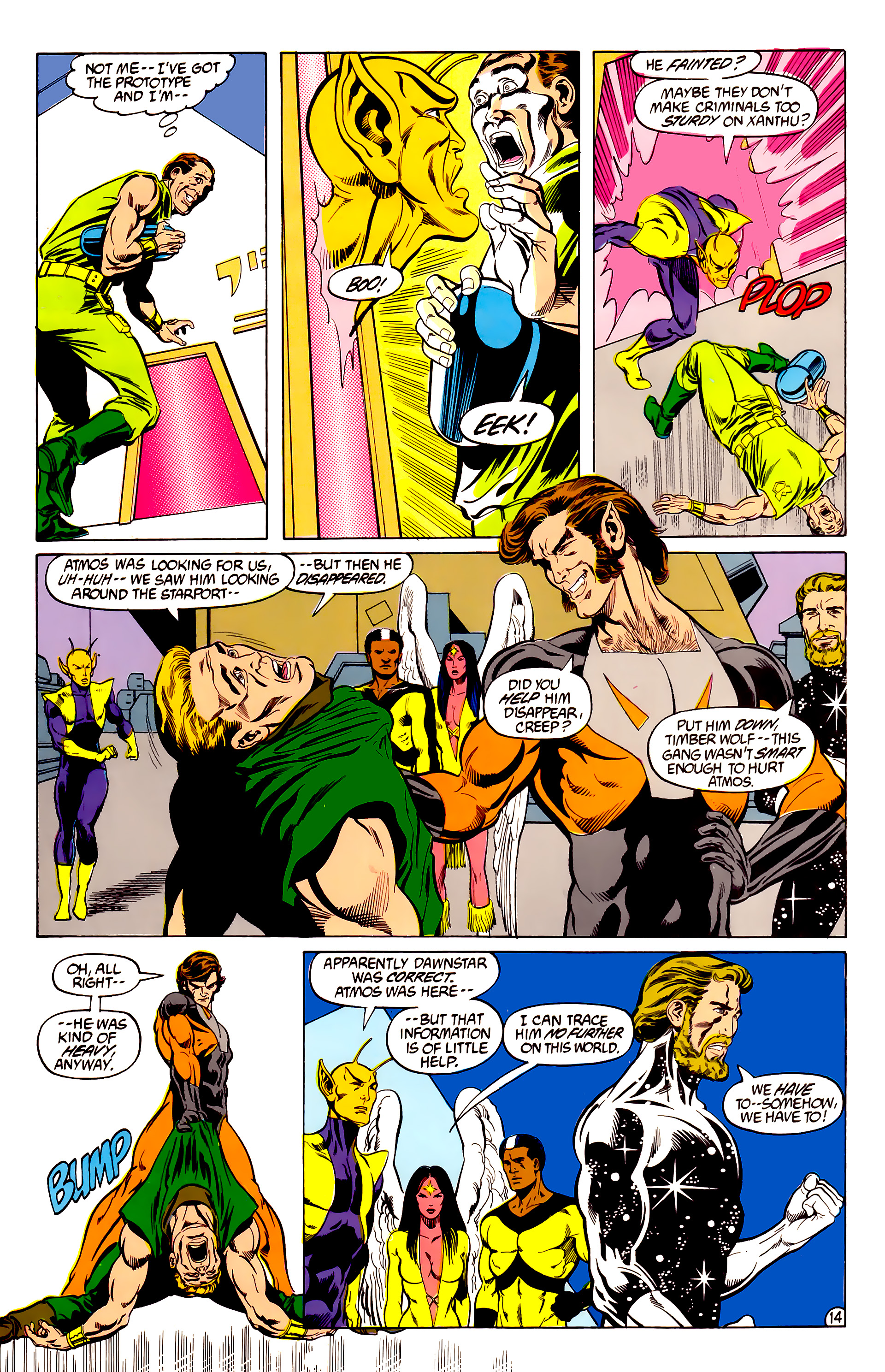 Legion of Super-Heroes (1984) 28 Page 15