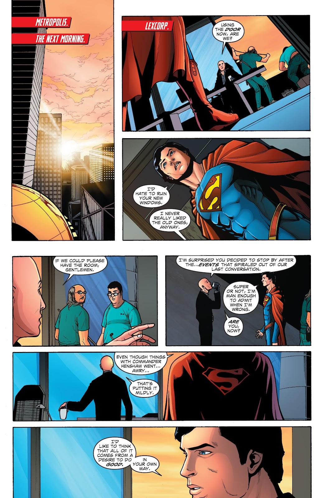 Read online Smallville Season 11 [II] comic -  Issue # TPB 1 - 123