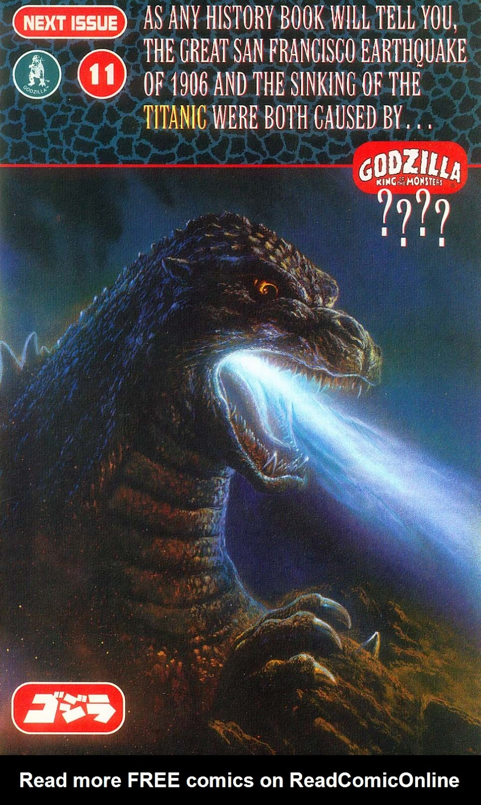 Godzilla (1995) Issue #10 #11 - English 27