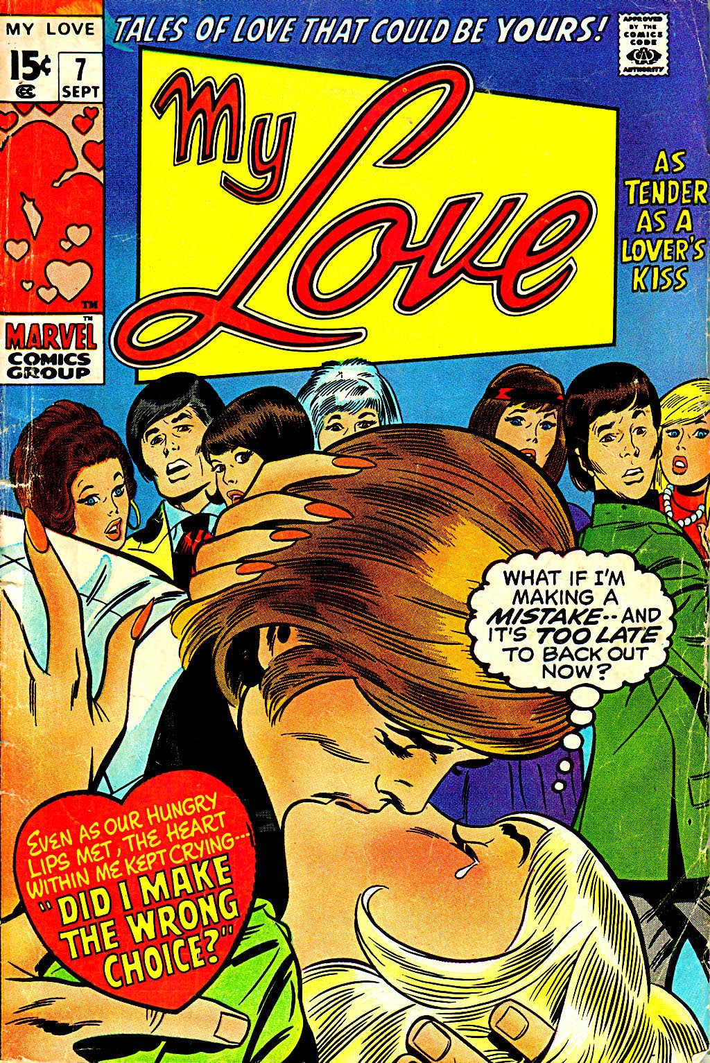My Love (1969) issue 7 - Page 1