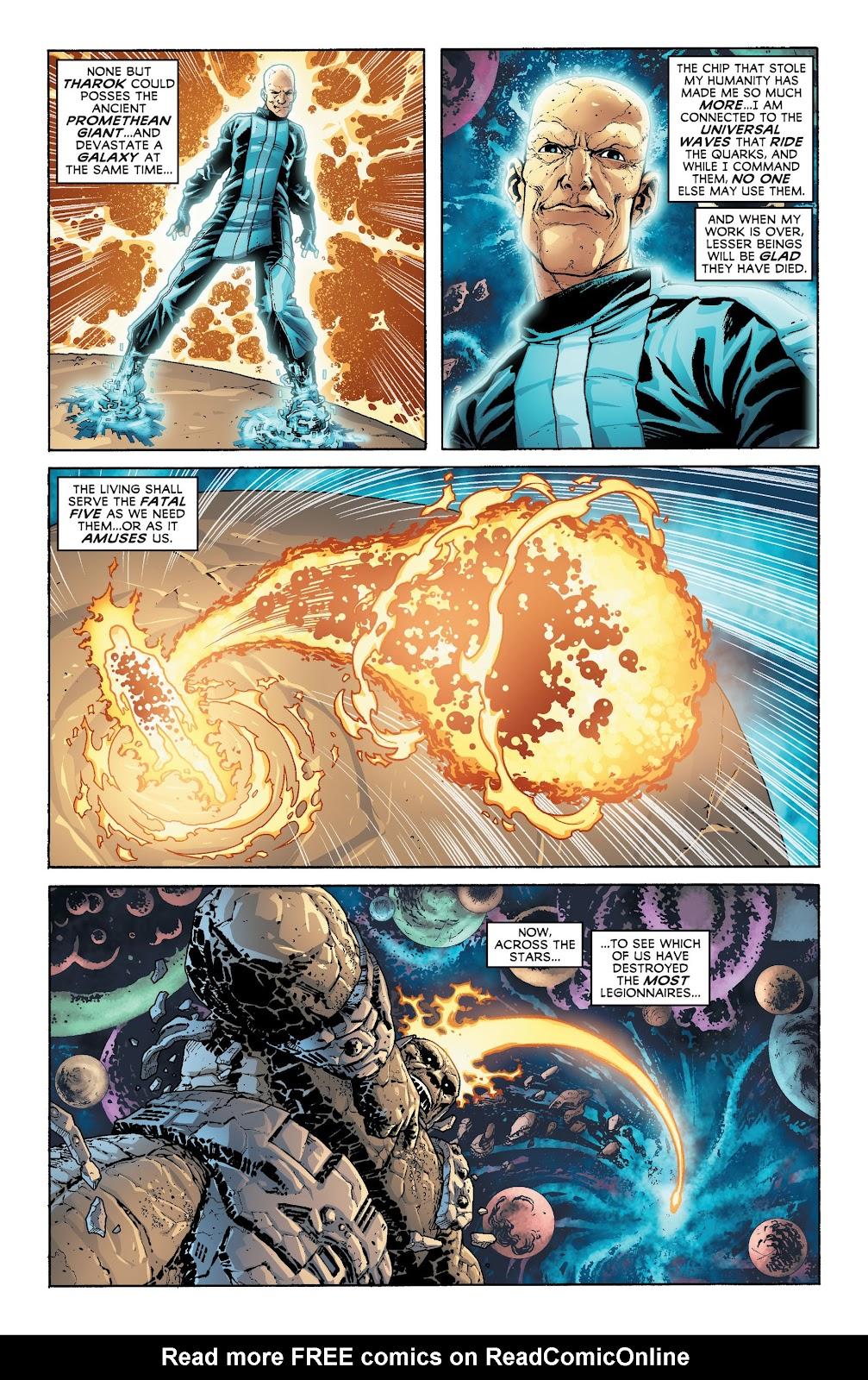 Legion of Super-Heroes (2011) Issue #20 #21 - English 11