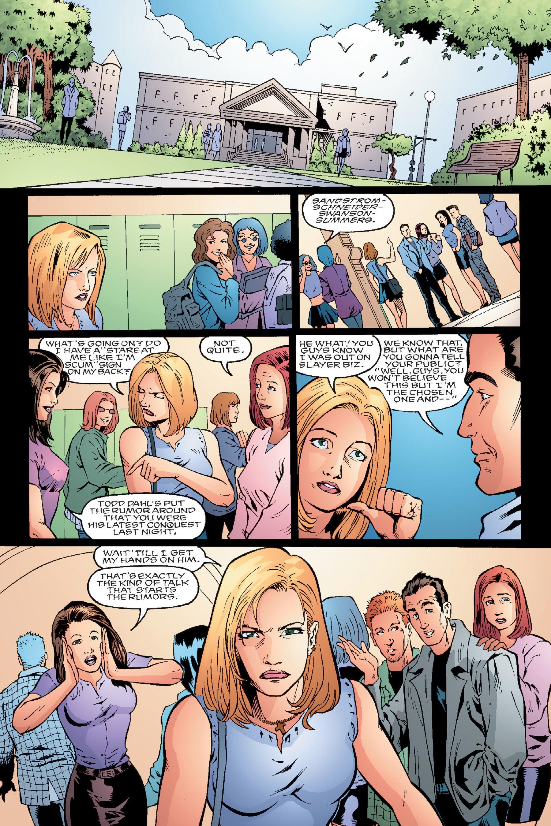 Read online Buffy the Vampire Slayer: Omnibus comic -  Issue # TPB 4 - 66