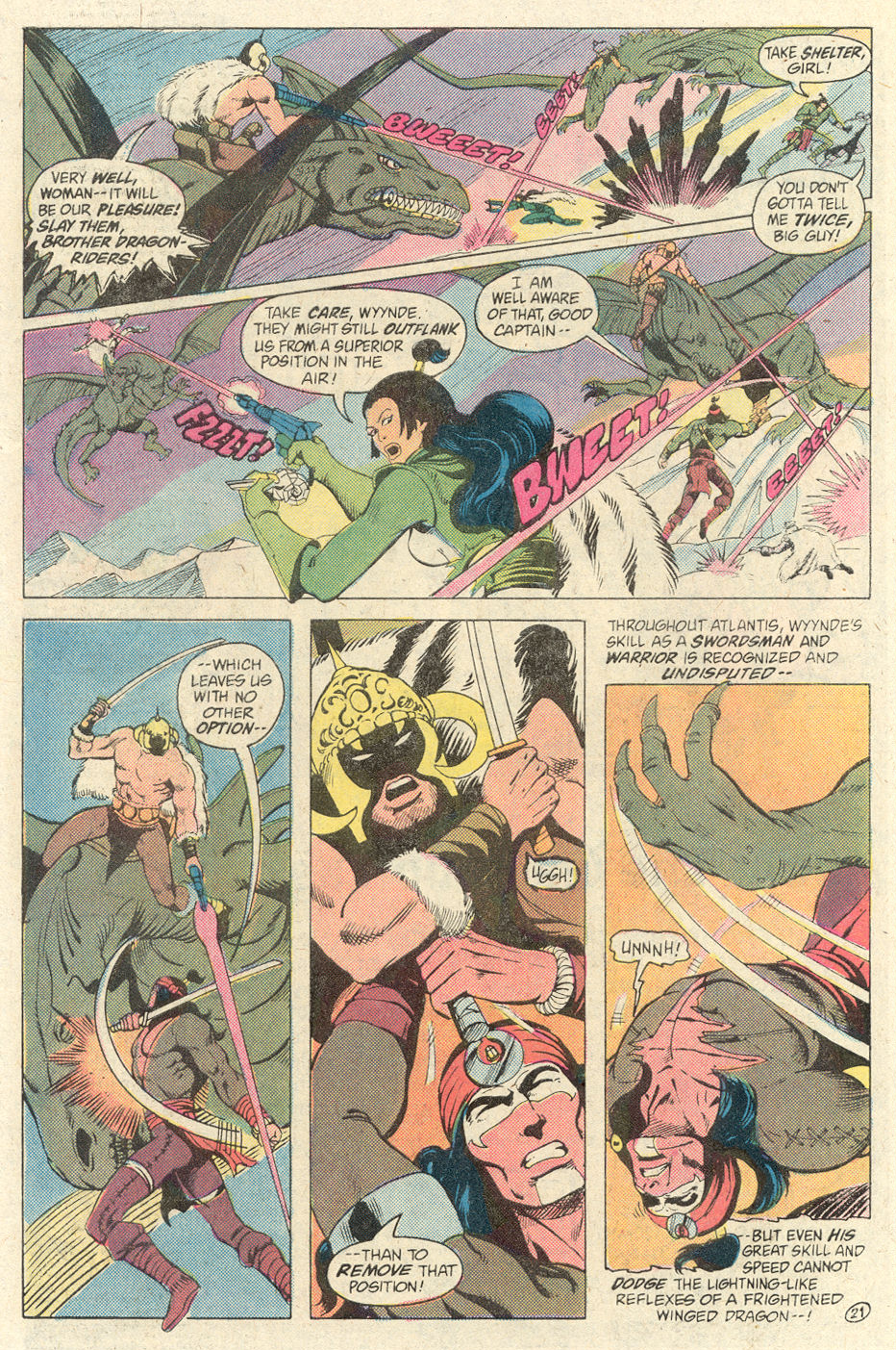 Read online Arion, Lord of Atlantis comic -  Issue #2 - 21