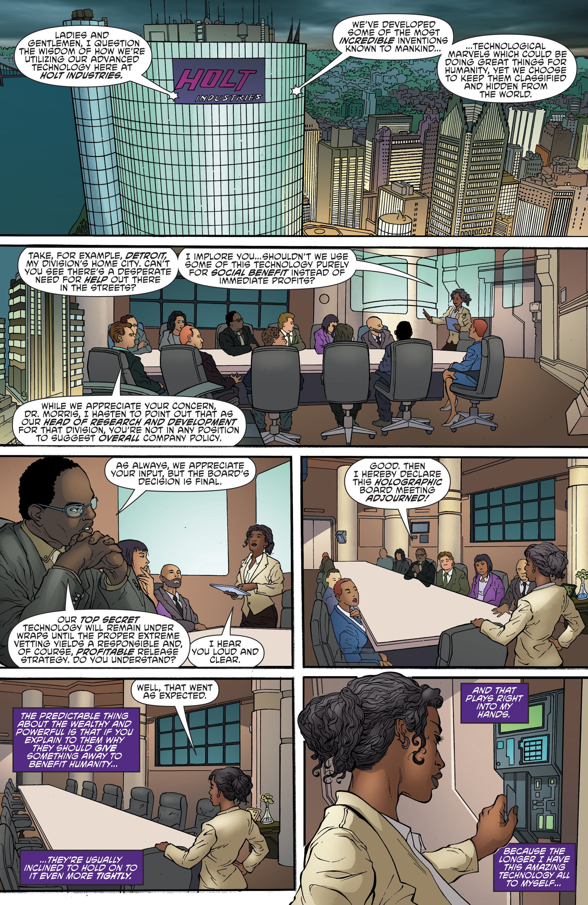 Read online Cyborg (2016) comic -  Issue #13 - 4