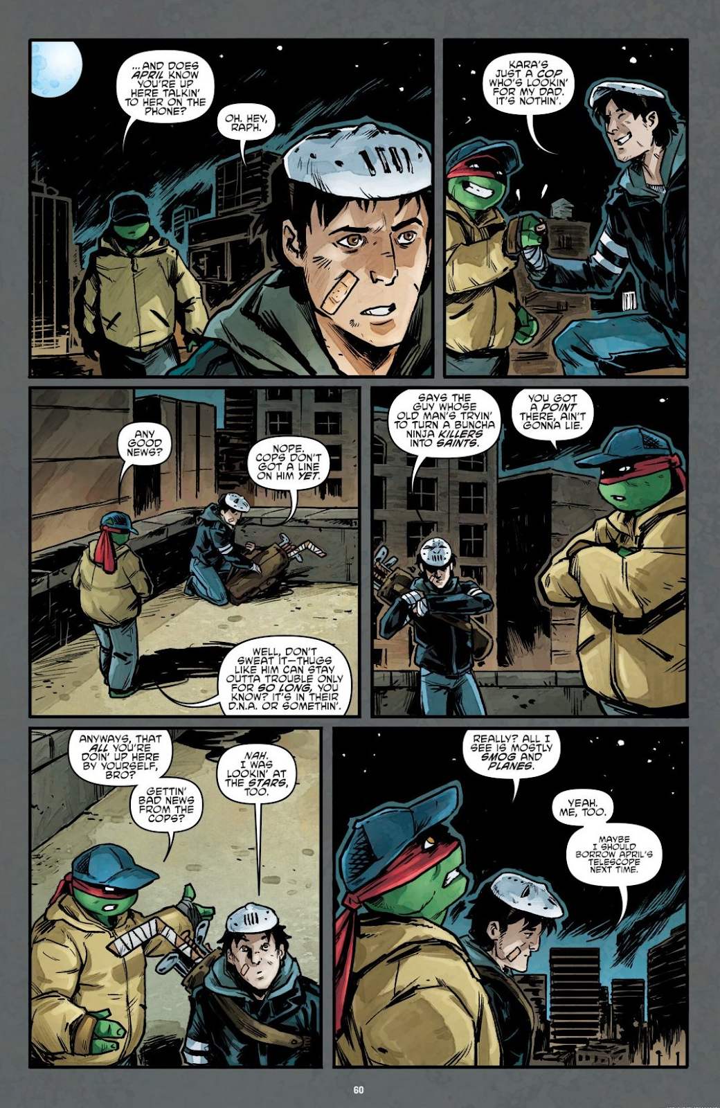 Read online Teenage Mutant Ninja Turtles: The IDW Collection comic -  Issue # TPB 7 (Part 1) - 59