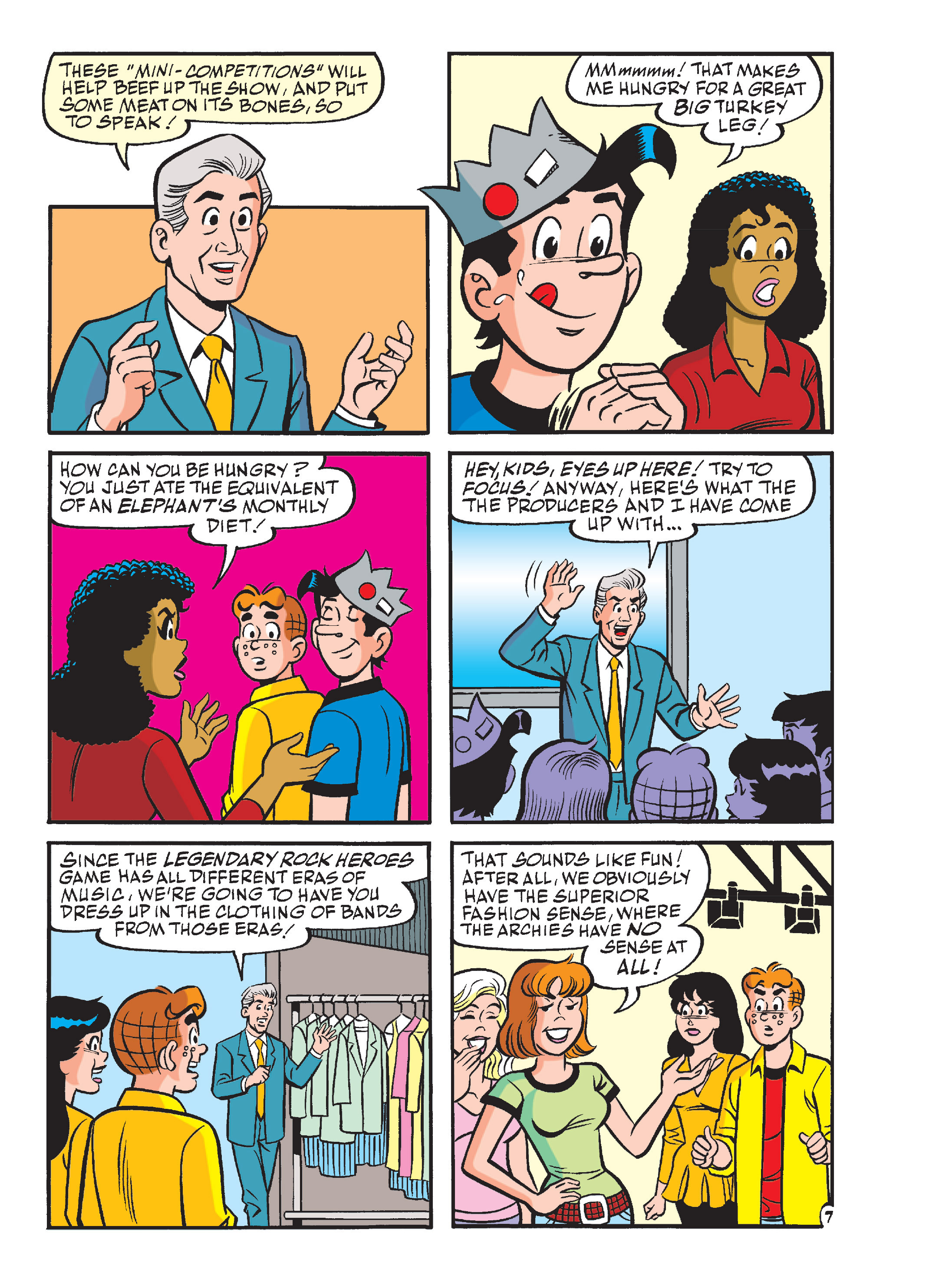 Read online Archie's Funhouse Double Digest comic -  Issue #13 - 42
