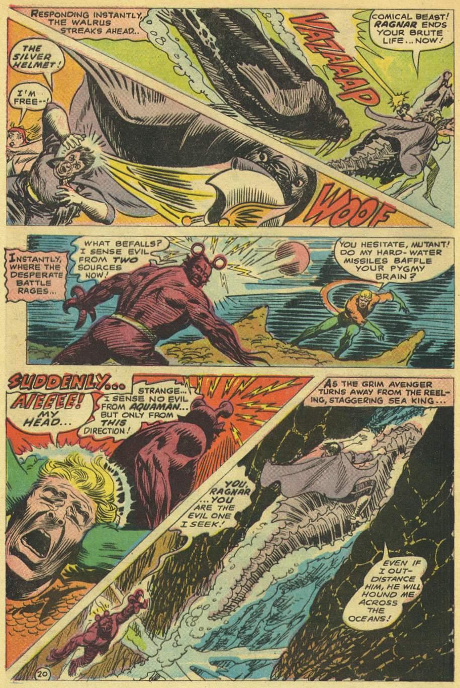 Read online Aquaman (1962) comic -  Issue #38 - 28