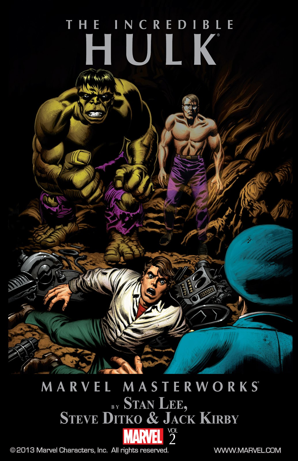 Read online Marvel Masterworks: The Incredible Hulk comic -  Issue # TPB 2 (Part 1) - 1