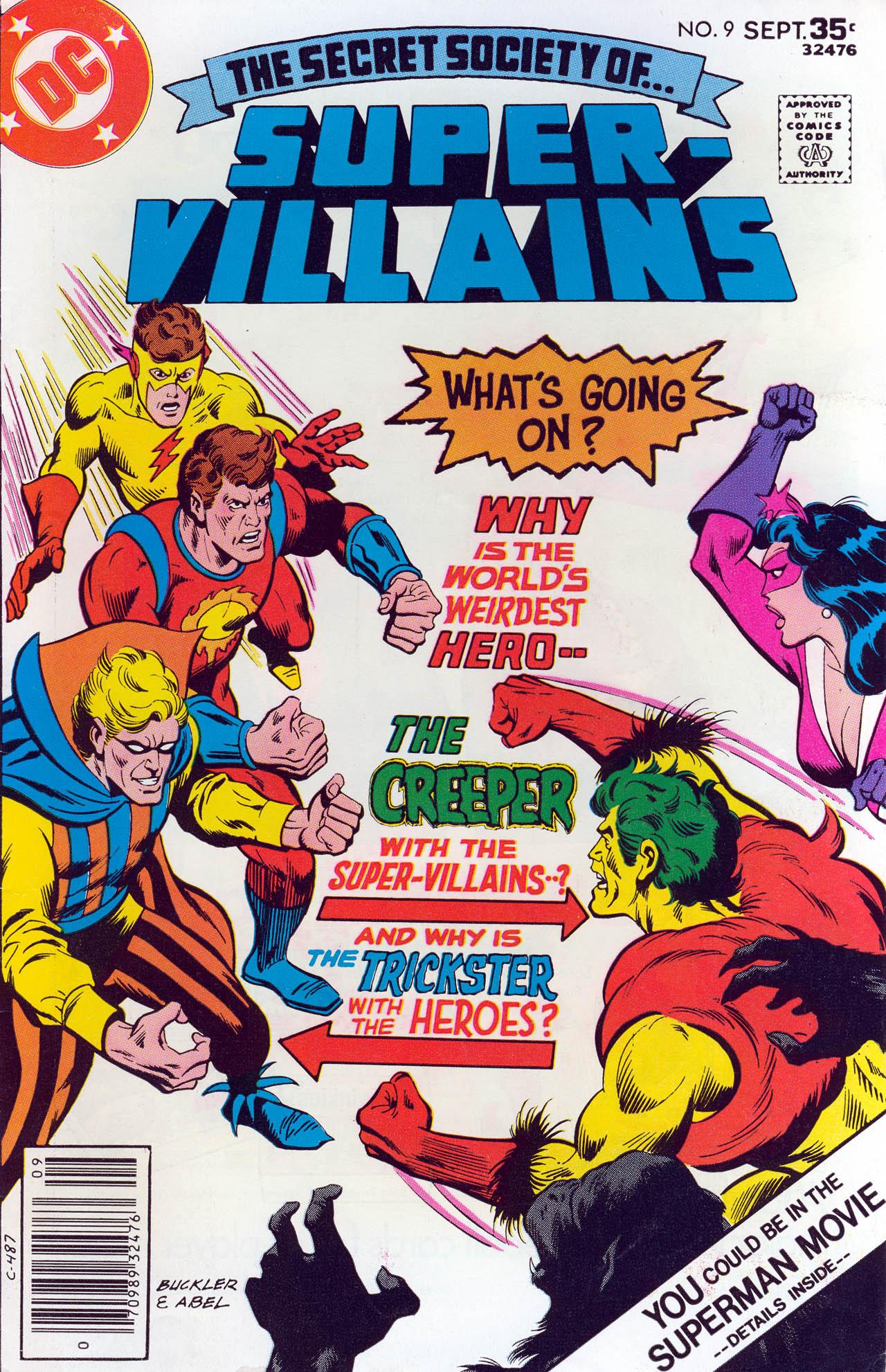 Read online Secret Society of Super-Villains comic -  Issue #9 - 1