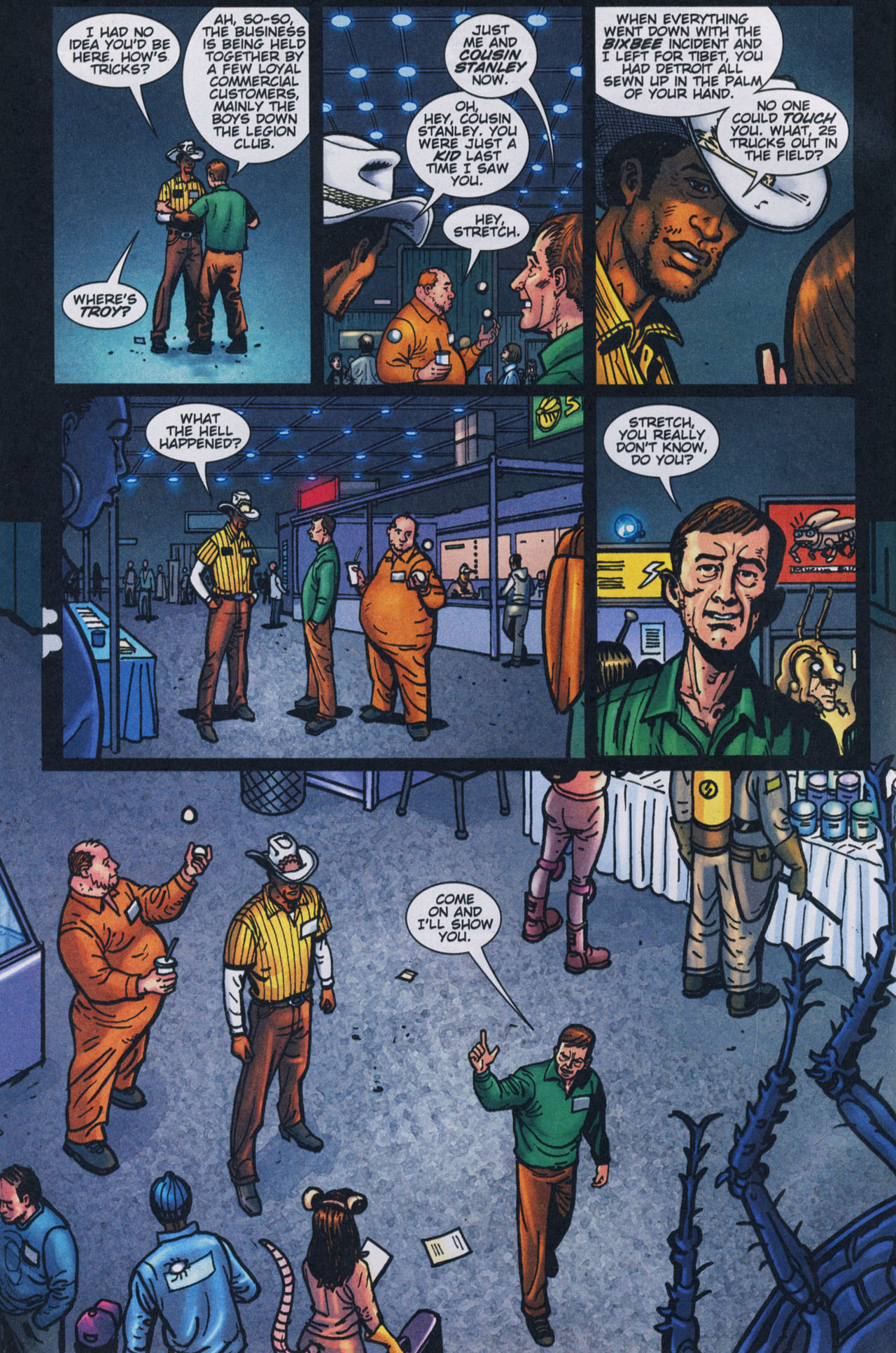 Read online The Exterminators comic -  Issue #17 - 5