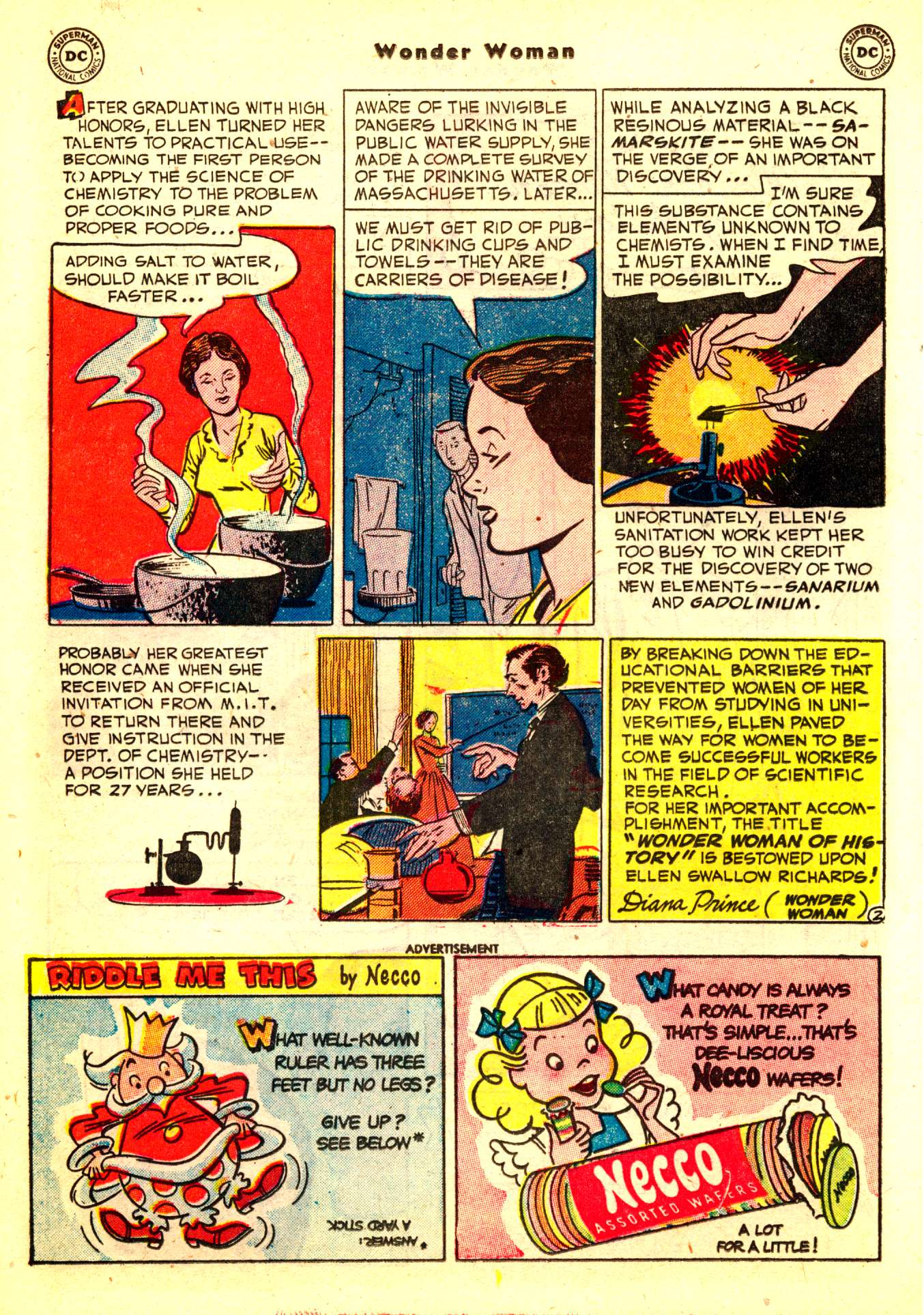 Read online Wonder Woman (1942) comic -  Issue #50 - 28