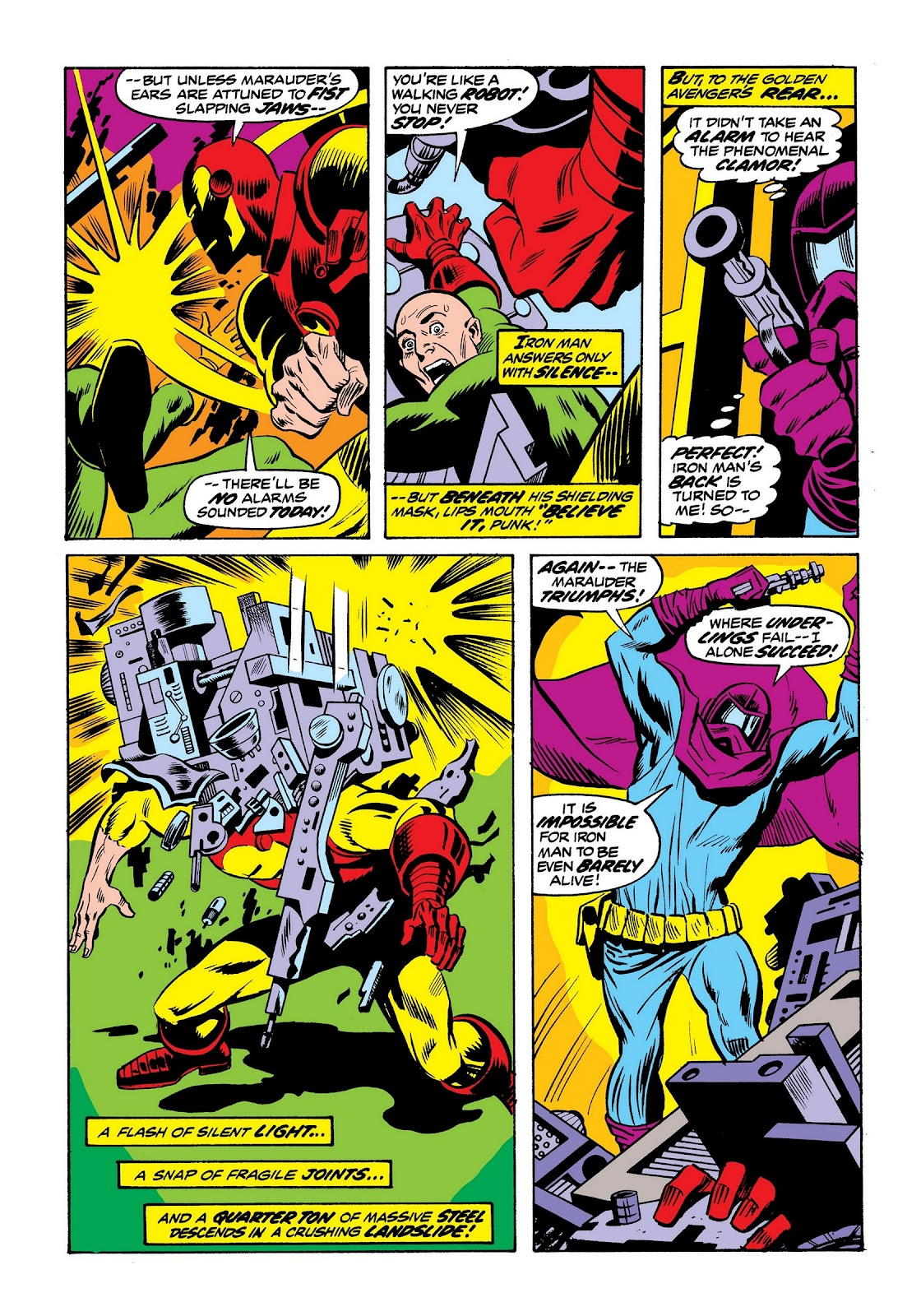 Read online Marvel Masterworks: The Invincible Iron Man comic -  Issue # TPB 9 (Part 2) - 63