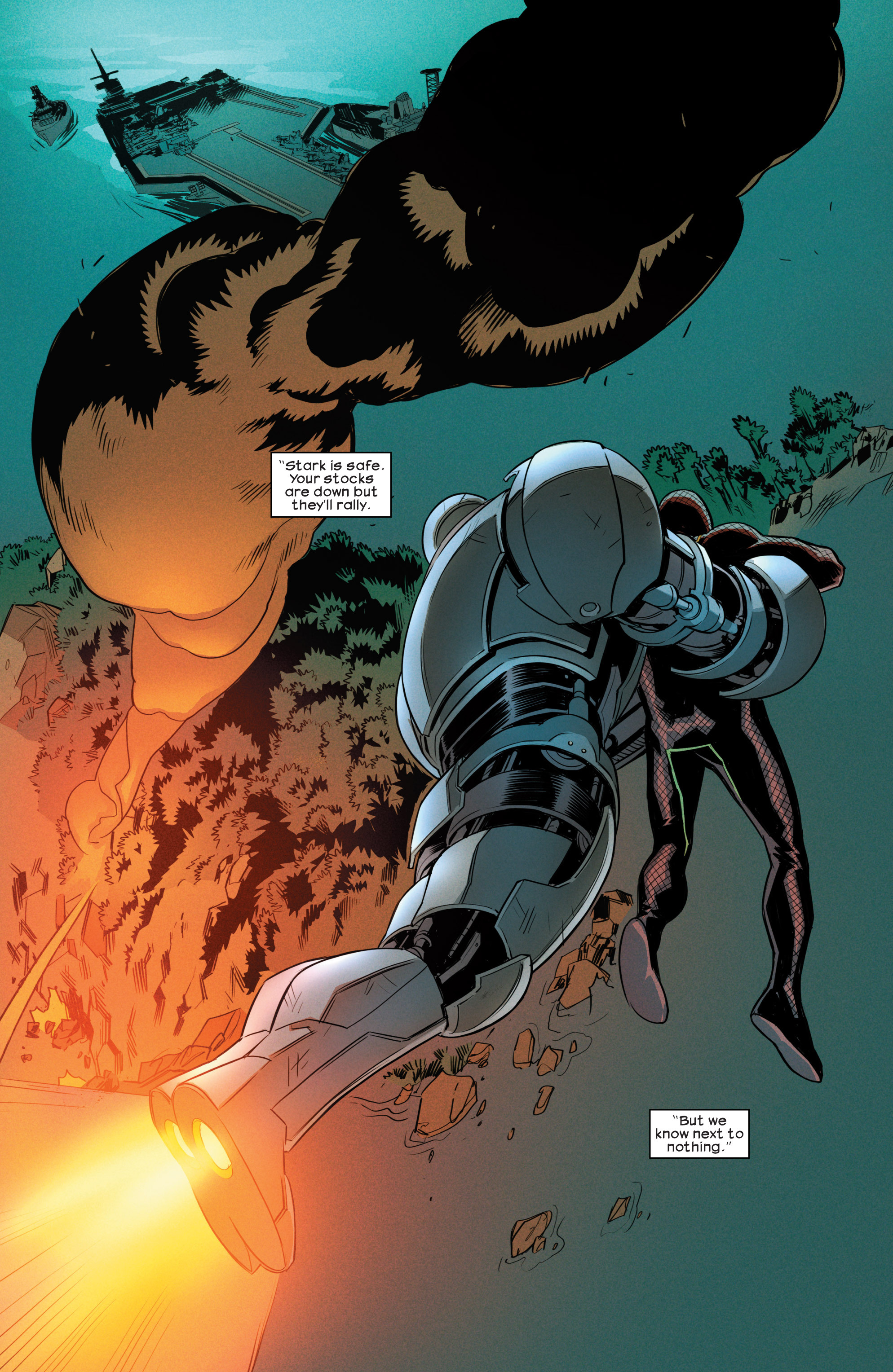 Read online Ultimate Comics Iron Man comic -  Issue #4 - 18