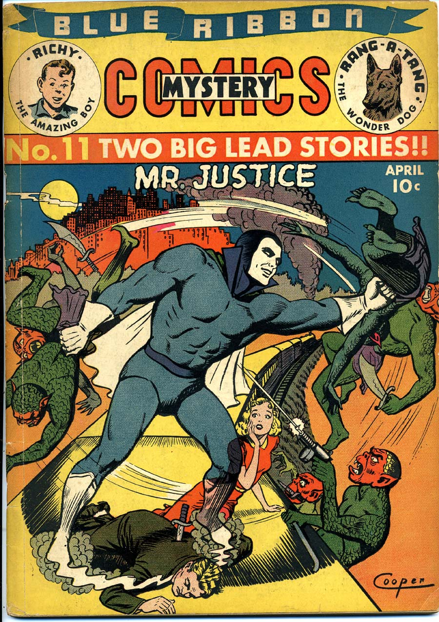Blue Ribbon Comics (1939) issue 11 - Page 1