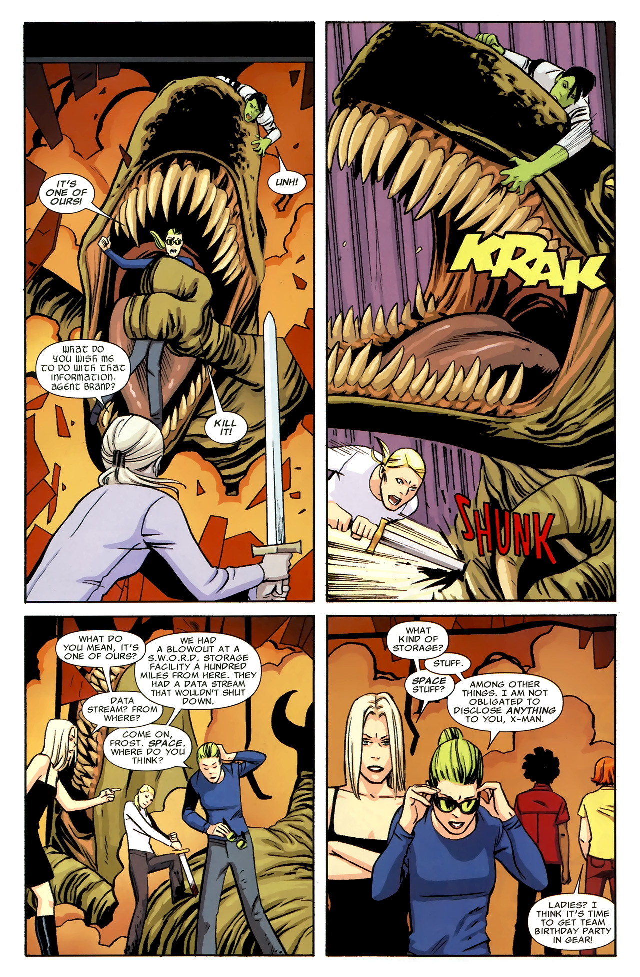 Read online Heralds comic -  Issue #1 - 19