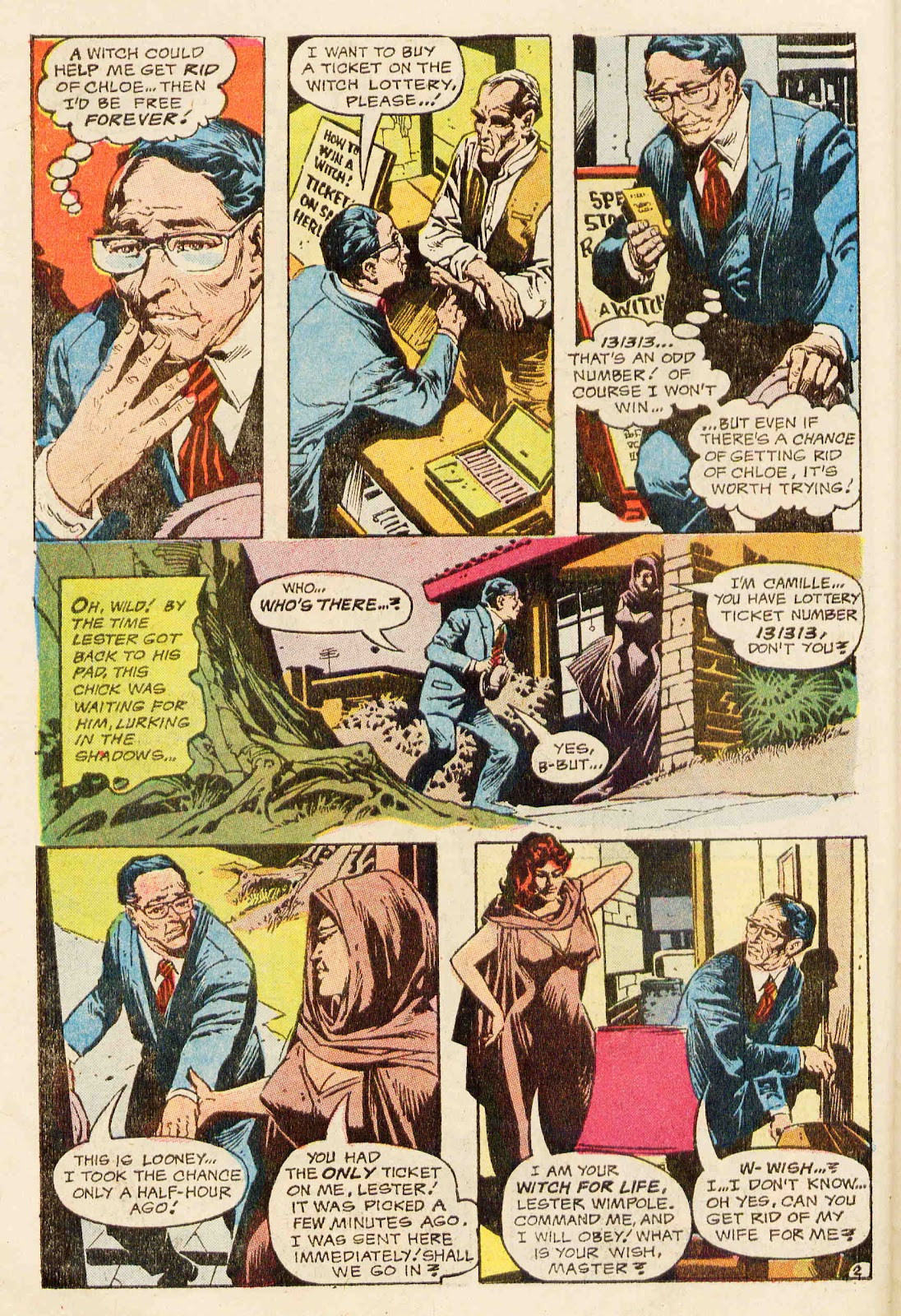 The Witching Hour (1969) issue 26 - Page 21