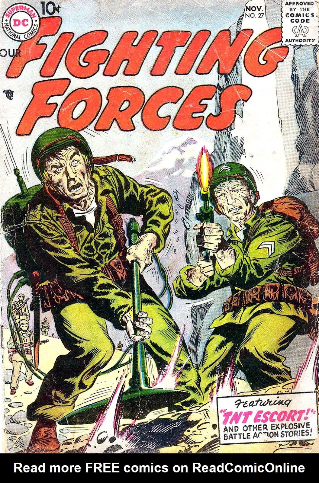 Our Fighting Forces (1954) issue 27 - Page 1