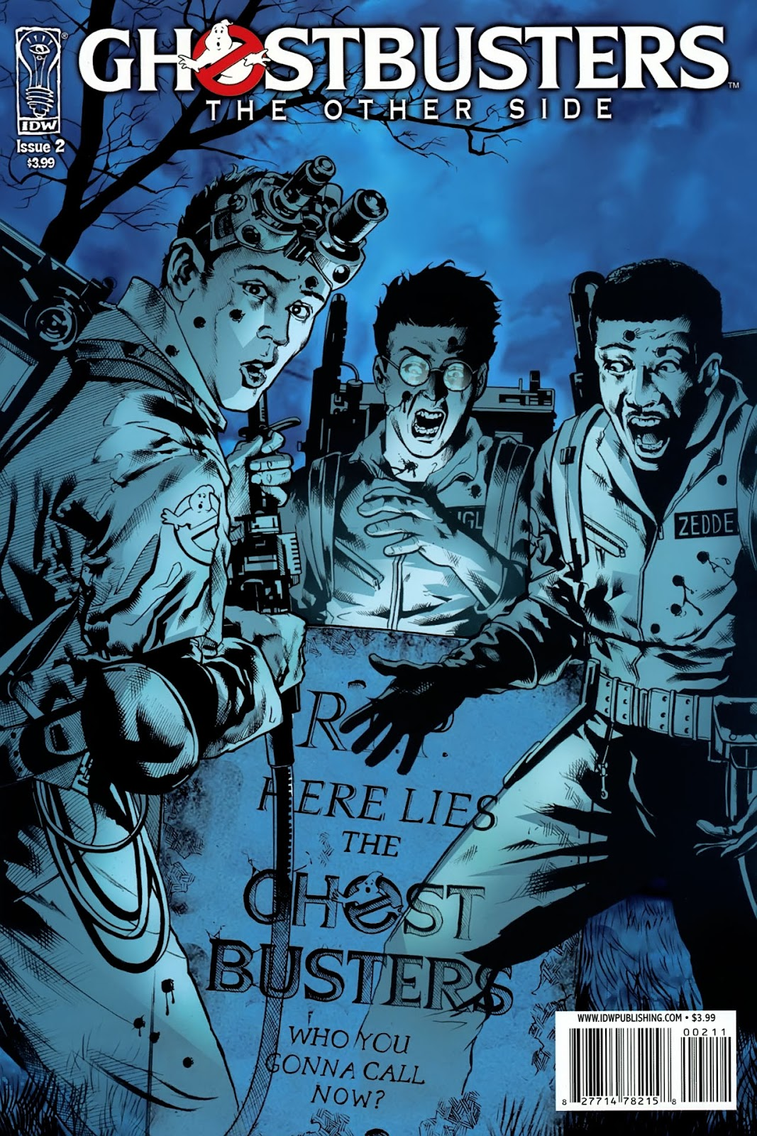 Ghostbusters: The Other Side issue 2 - Page 1