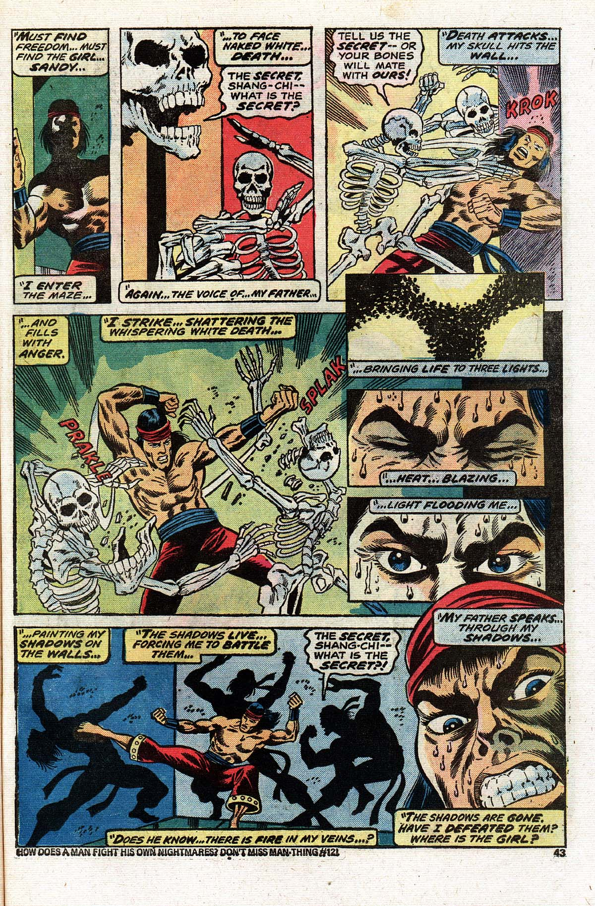 Read online Giant-Size Master of Kung Fu comic -  Issue #2 - 36