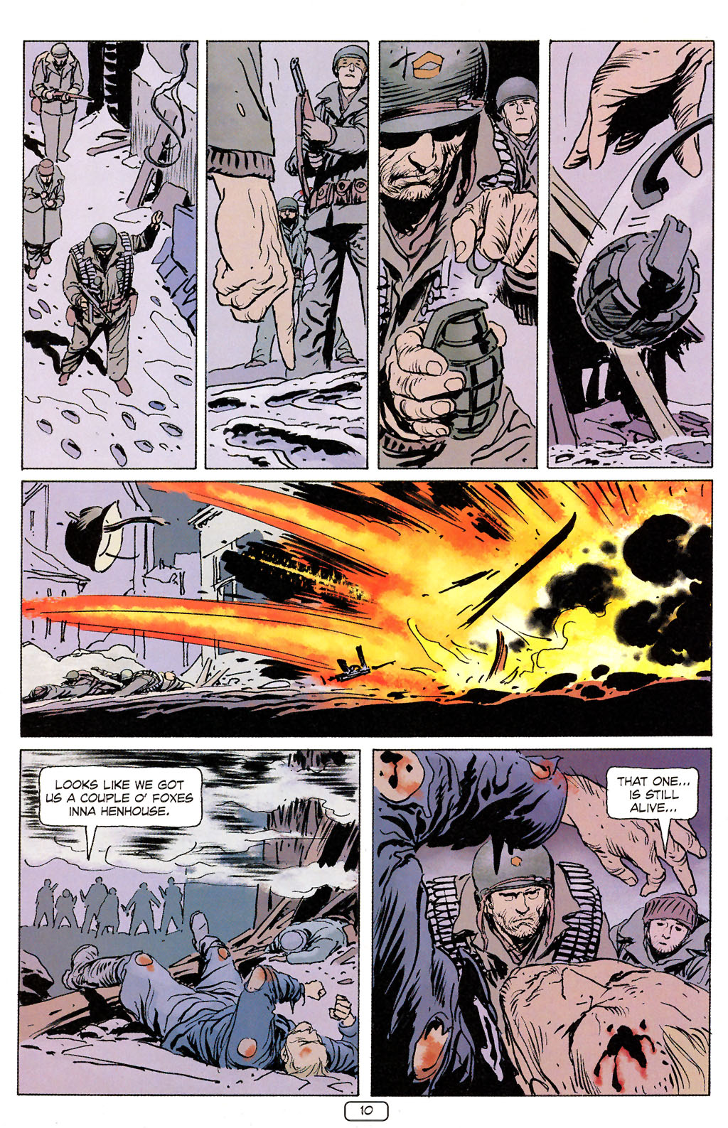 Read online Sgt. Rock: The Prophecy comic -  Issue #6 - 10