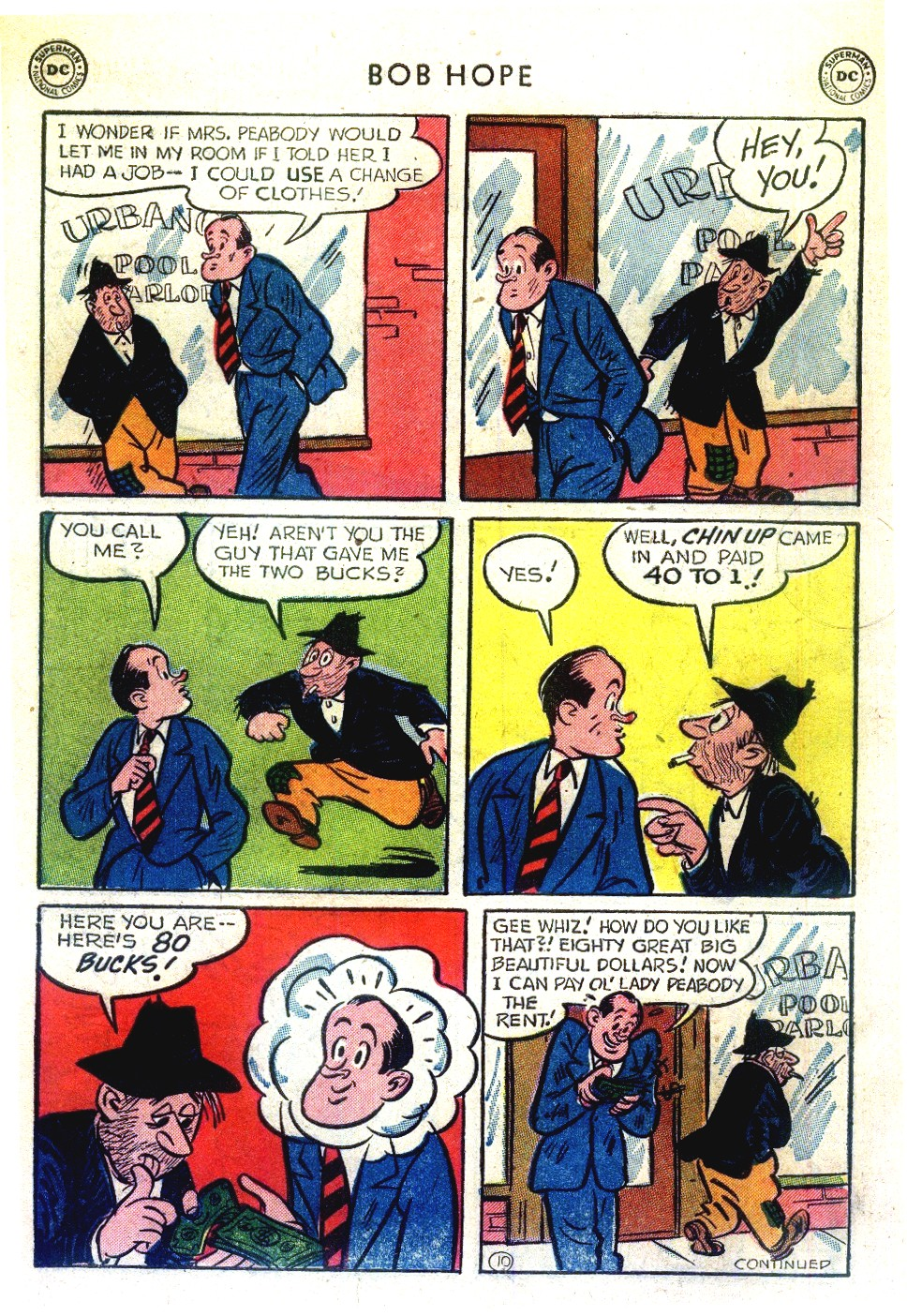 The Adventures of Bob Hope issue 27 - Page 12