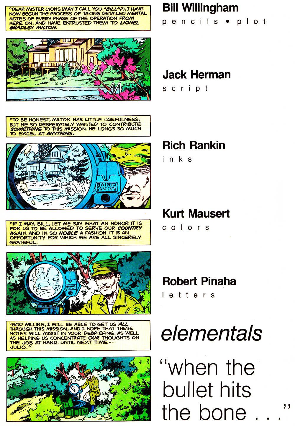 Elementals (1984) issue 10 - Page 5