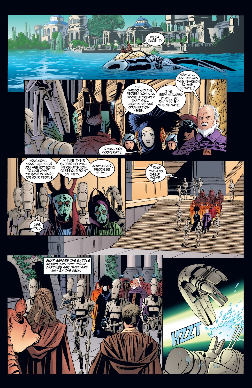 Read online Star Wars Legends: Rise of the Sith - Epic Collection comic -  Issue # TPB 2 (Part 3) - 56