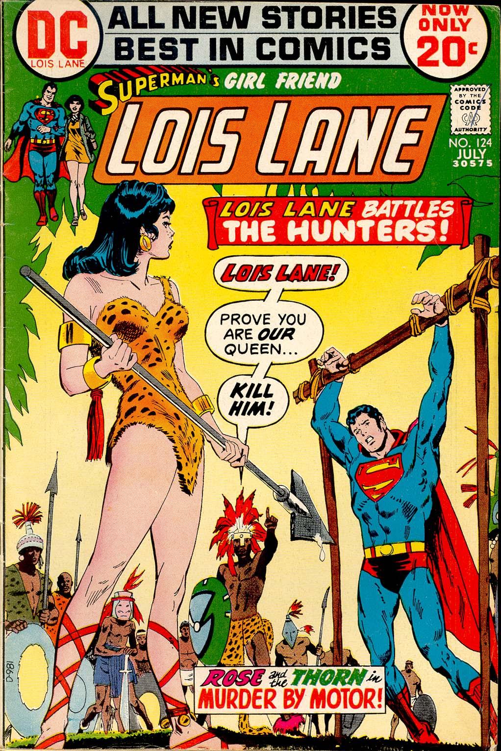 Supermans Girl Friend, Lois Lane 124 Page 1