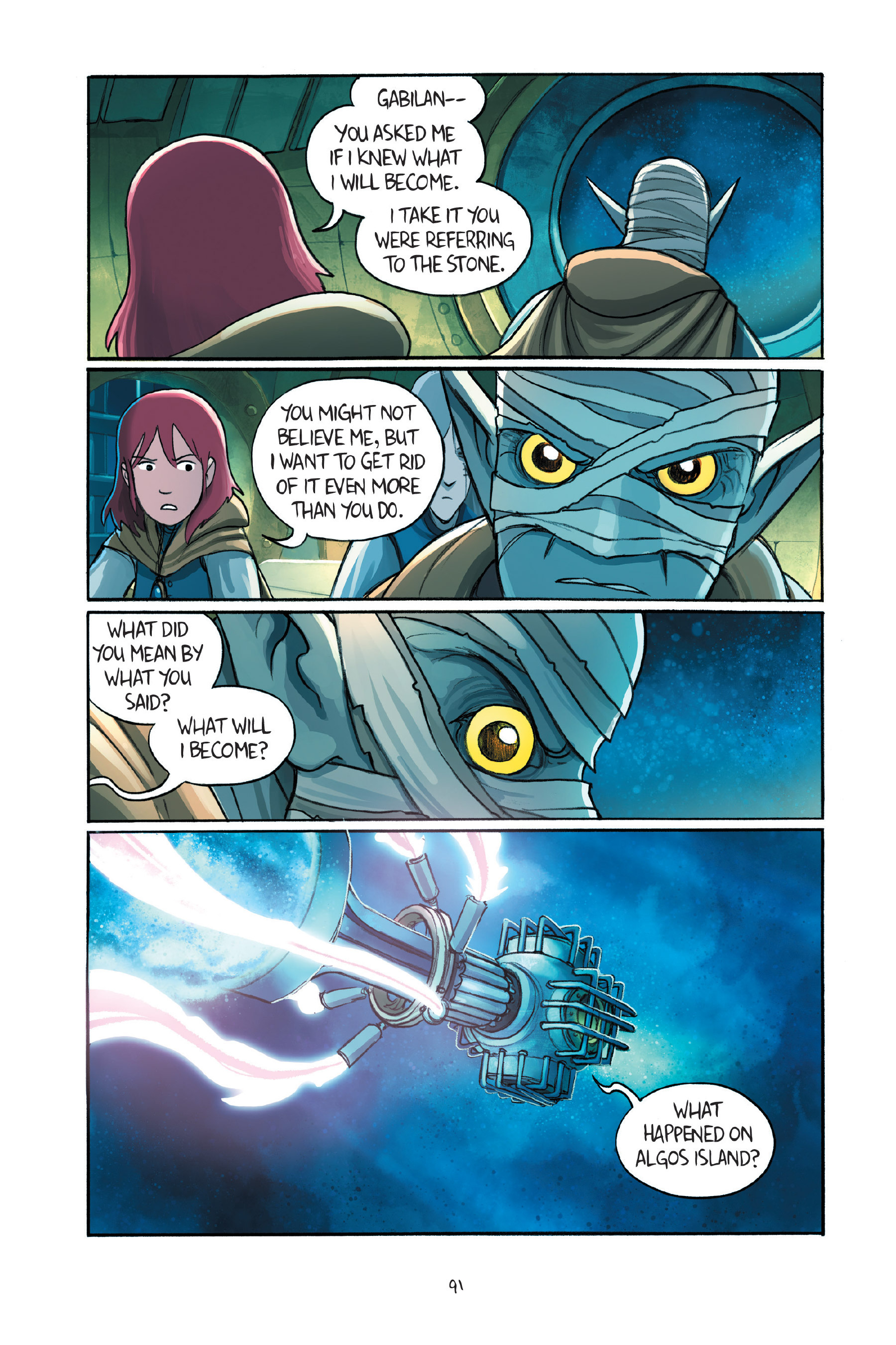 Read online Amulet comic -  Issue #7 - 92